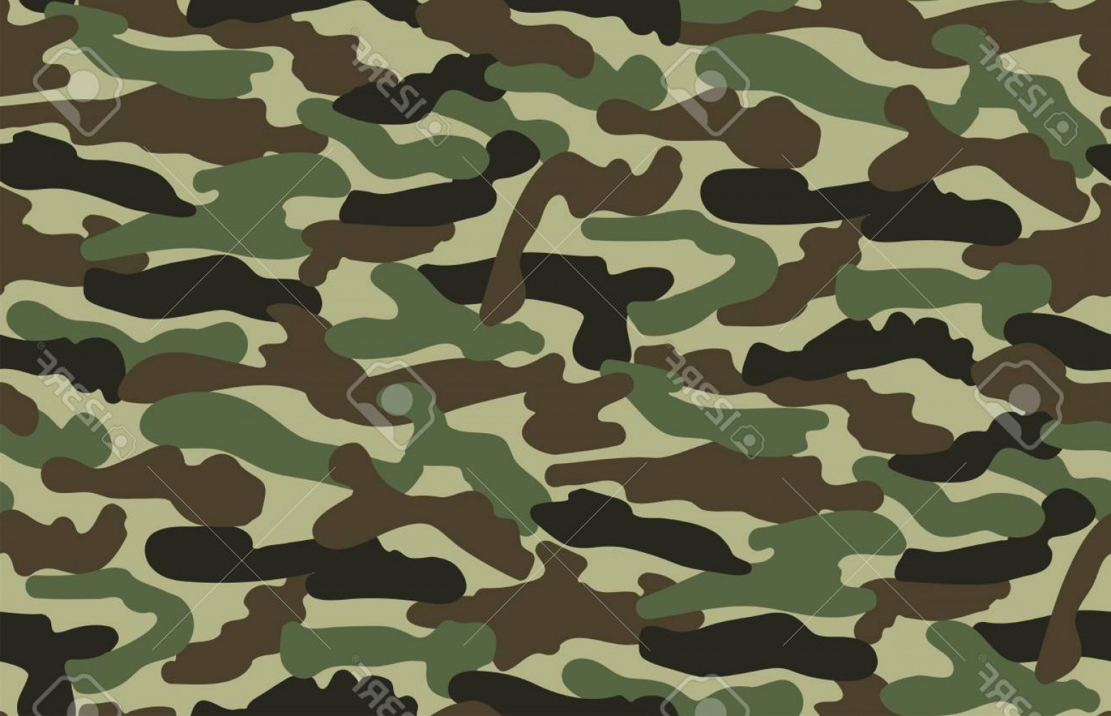 Army Camouflage Pattern Vector: Photostock Vector Abstract Vector Military Camouflage Background Seamless Camo Pattern For Army Clothing