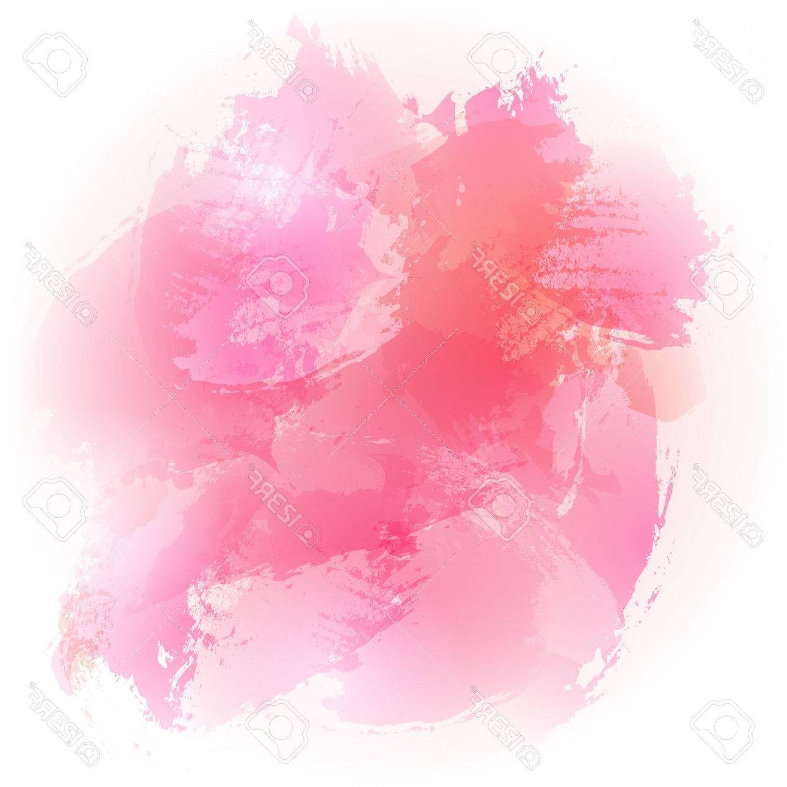 Watercolor Vector Background Free: Photostock Vector Abstract Watercolor Pink Brushed Vector Background Design