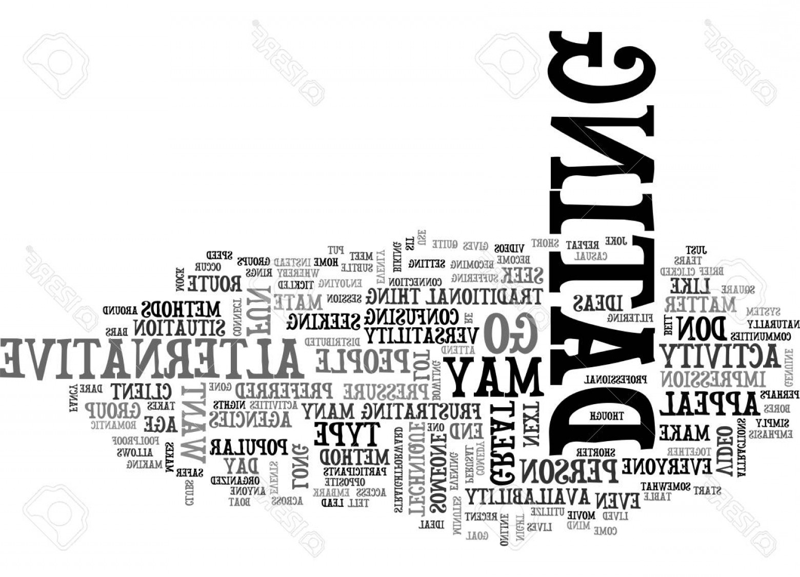 Vector Straightforward: Photostock Vector Are Text Word Cloud Concept