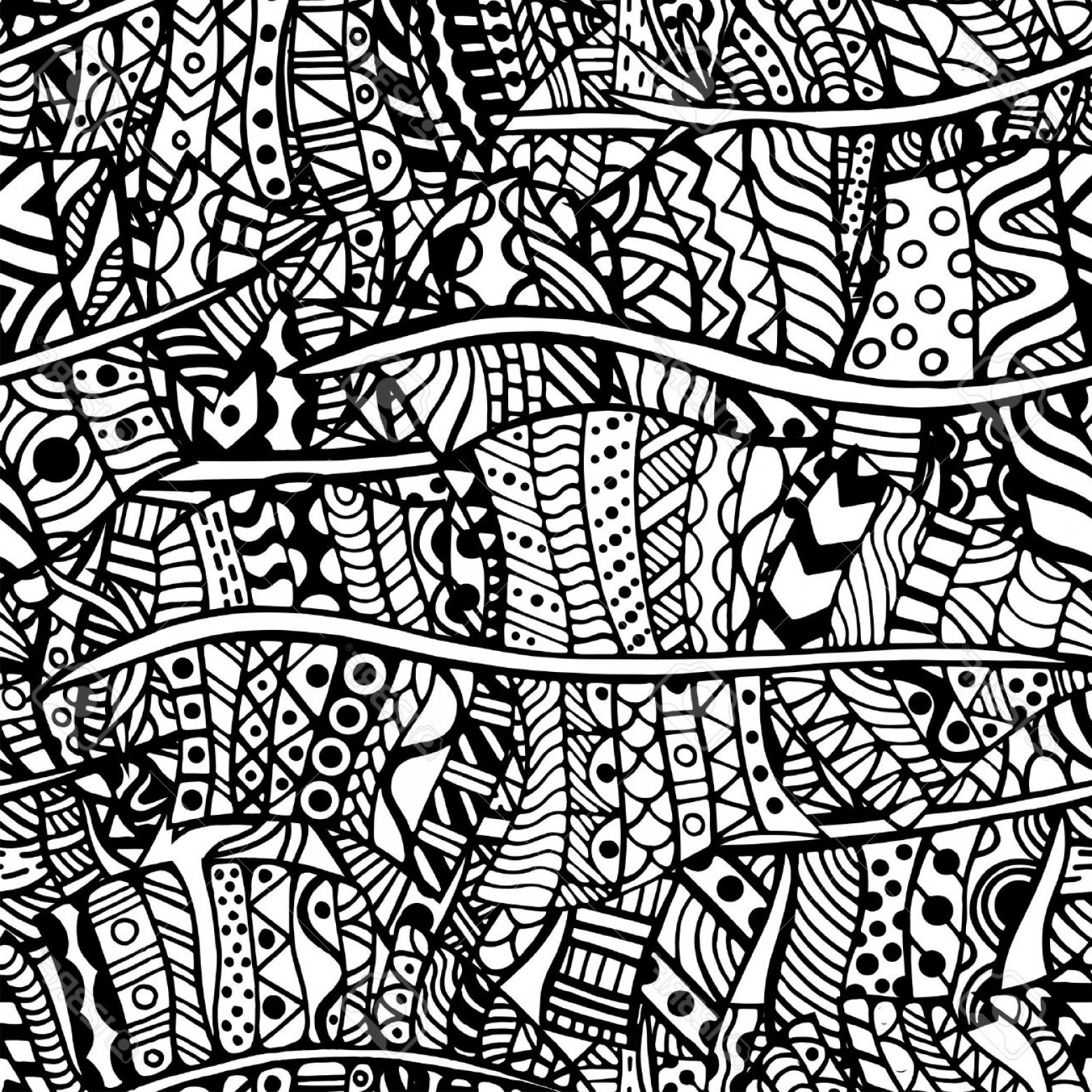 Zentangle Vector: Photostock Vector Artistically Ethnic Pattern Hand Drawn Ethnic Floral Retro Doodle Vector Zentangle Tribal Design Ele
