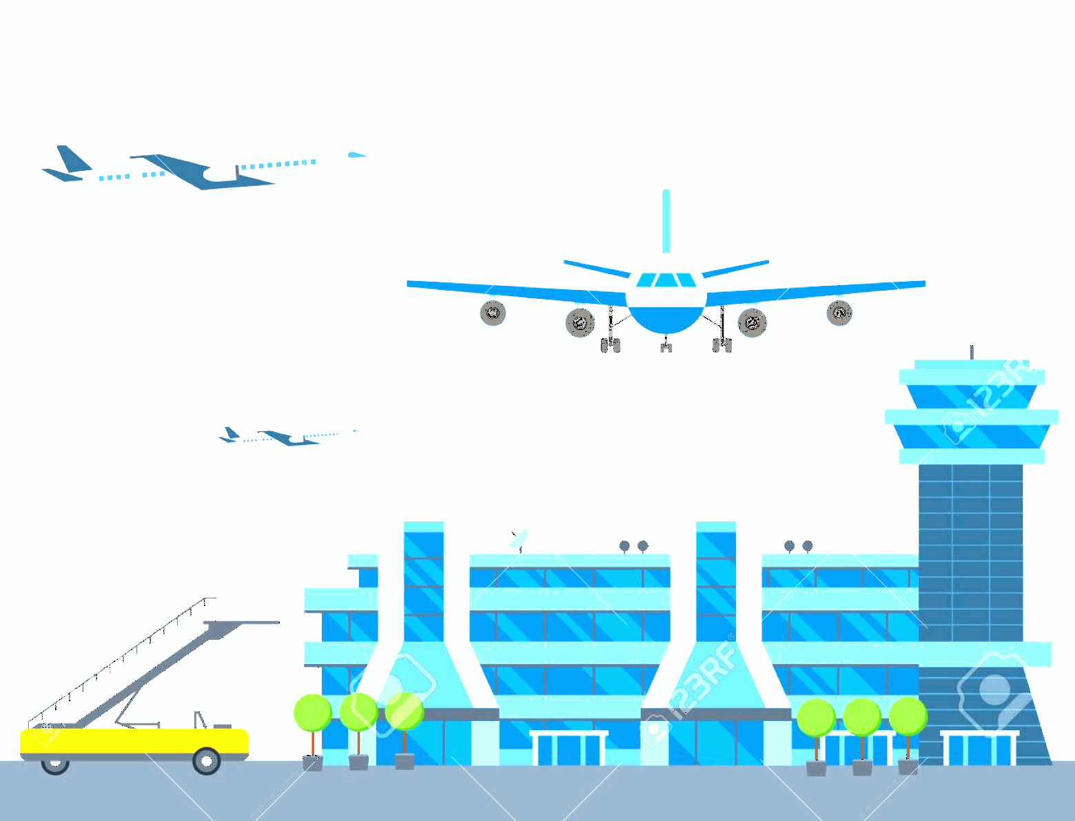 Aviation Vector Designs: Photostock Vector Aviation Airport Vector Airline Graphic Airplane Airport Transportation Fly Travel Symbol Illustrati