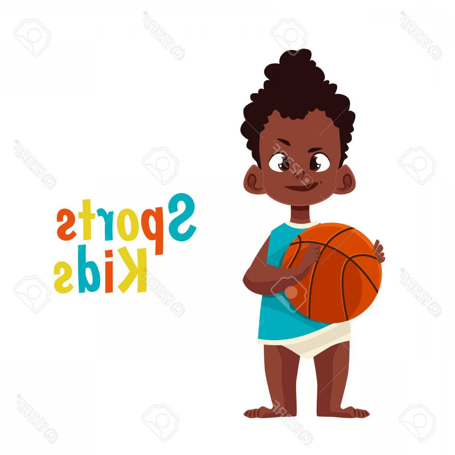 Cartoon Basketball Vector: Photostock Vector Baby In Diaper Playing Basketball Vector Cartoon Comic Illustration Isolated On White Background Bab
