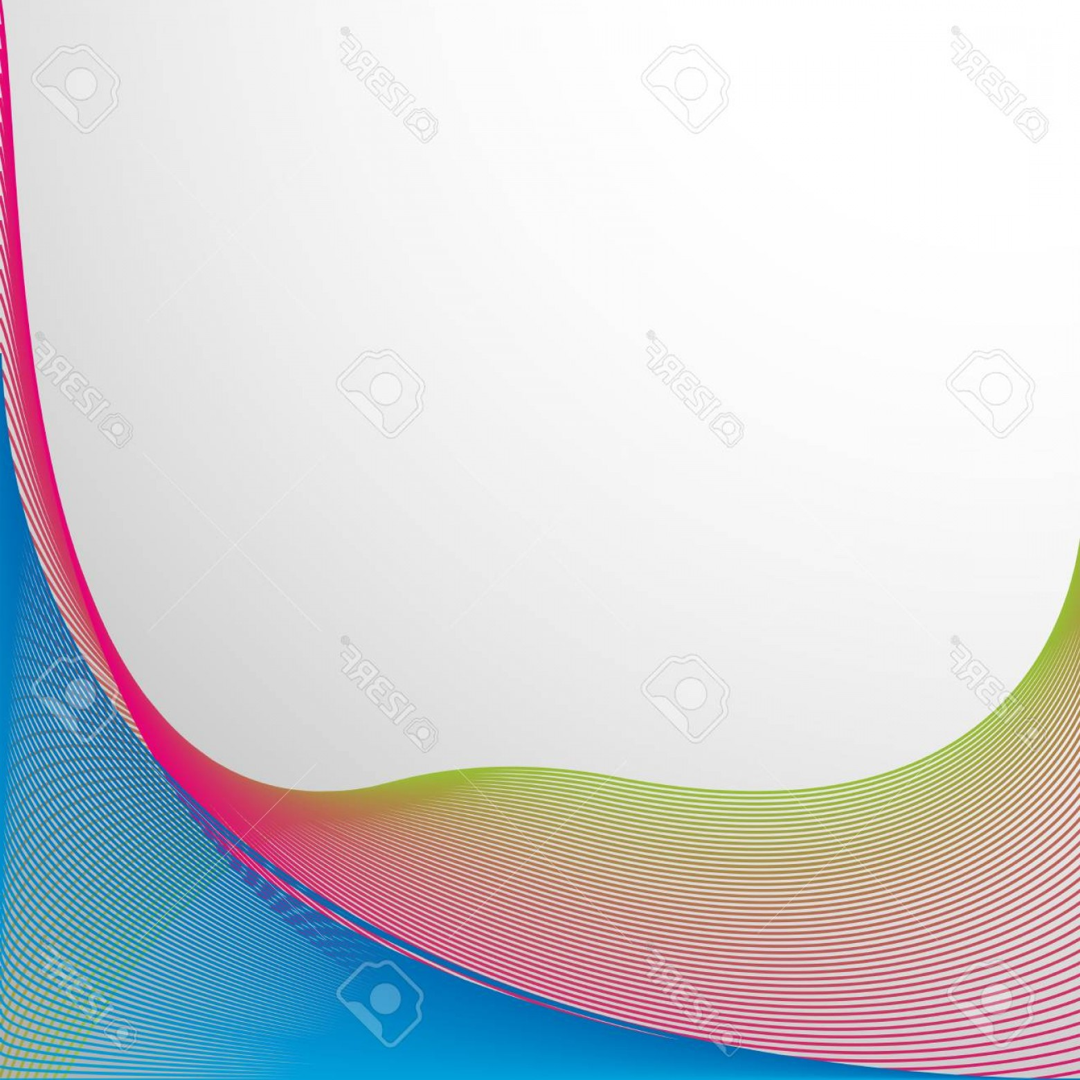 Wavy Line Illustrator Vector: Photostock Vector Background Design With Colorful Wavy Lines Illustration