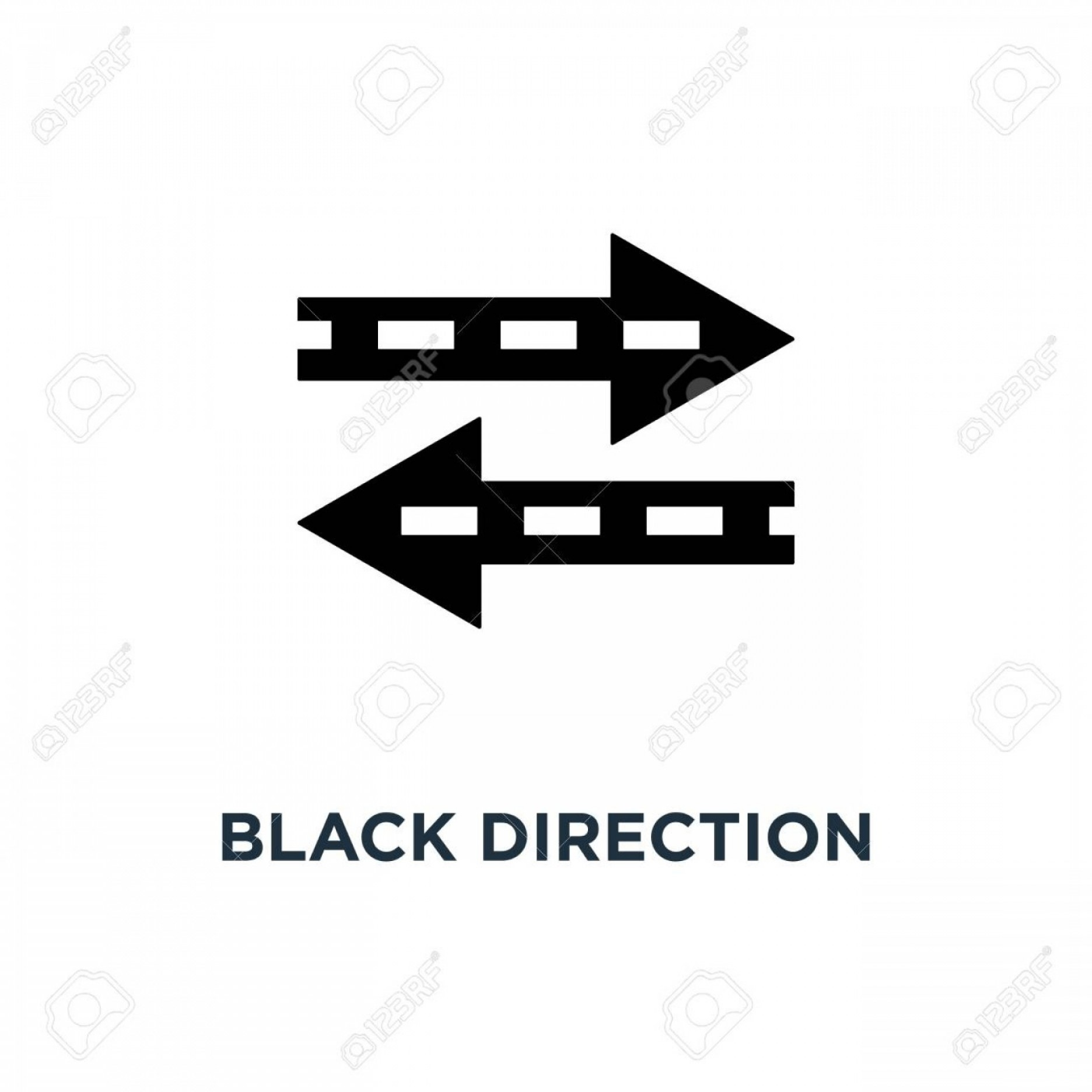 Recap Arrow Vectors: Photostock Vector Black Direction Arrow Like Transfer Icon Symbol Of Info Fast Transference For Website And Abstract T