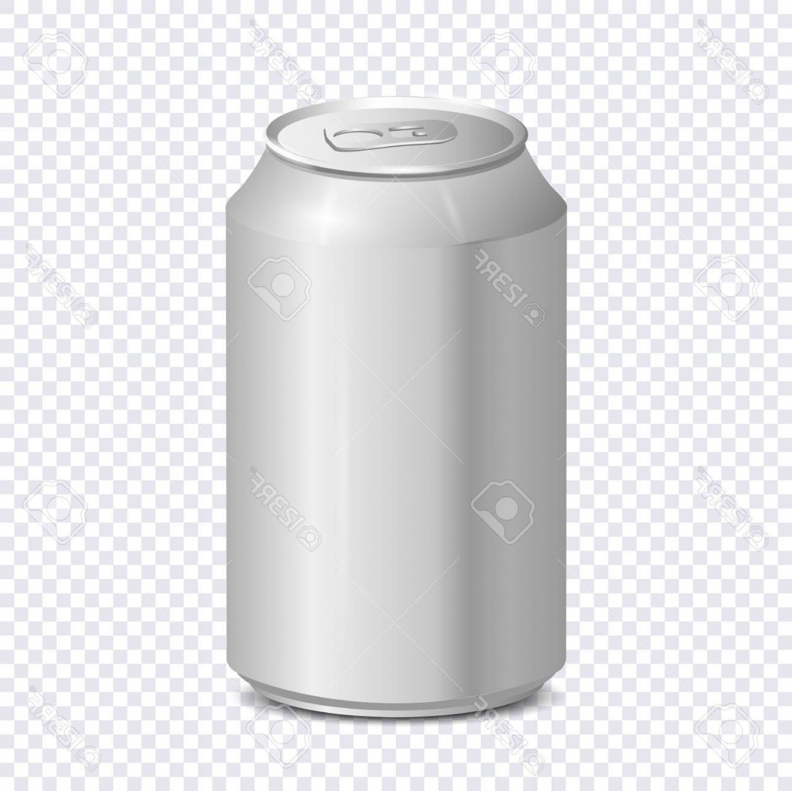 Can Vector: Photostock Vector Blank Aluminum Soda Can On Transparent Background Vector Template For Beer Or Juice Design