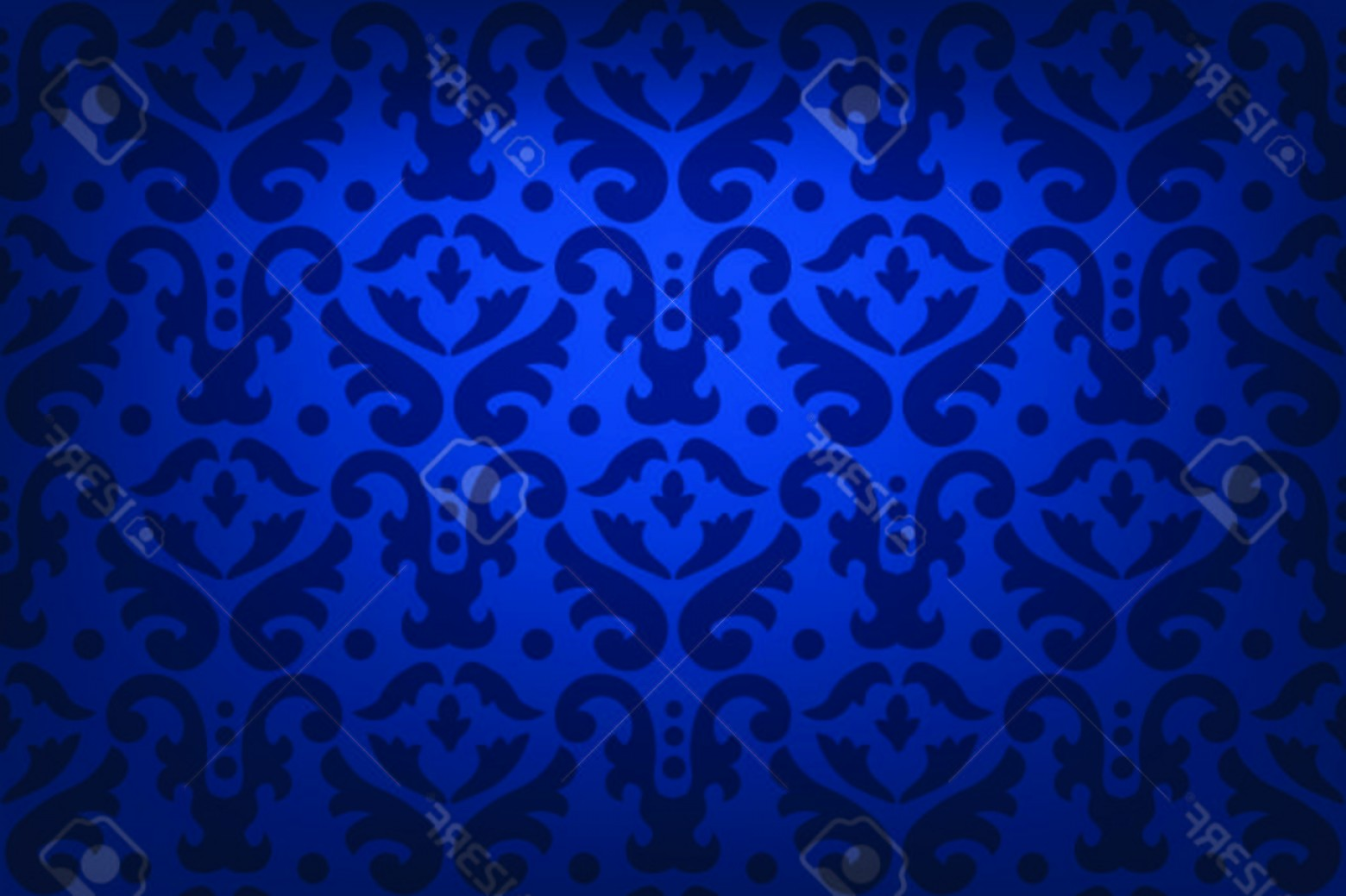Vector Blue Luxury: Photostock Vector Blue Luxury Lighted Background Damask Pattern Abstract Festival Background Abstract Ornamental Print