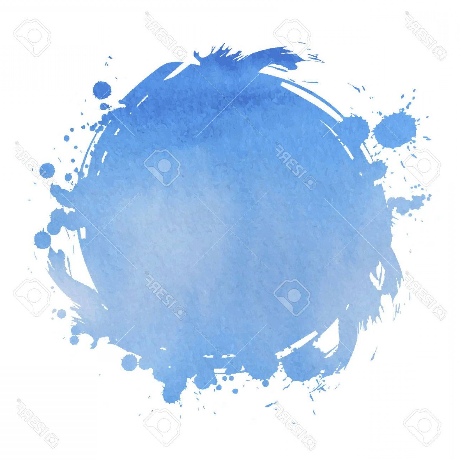 Watercolor Vector Background Free: Photostock Vector Blue Square Abstract Stylish Watercolor Background Vector Illustration
