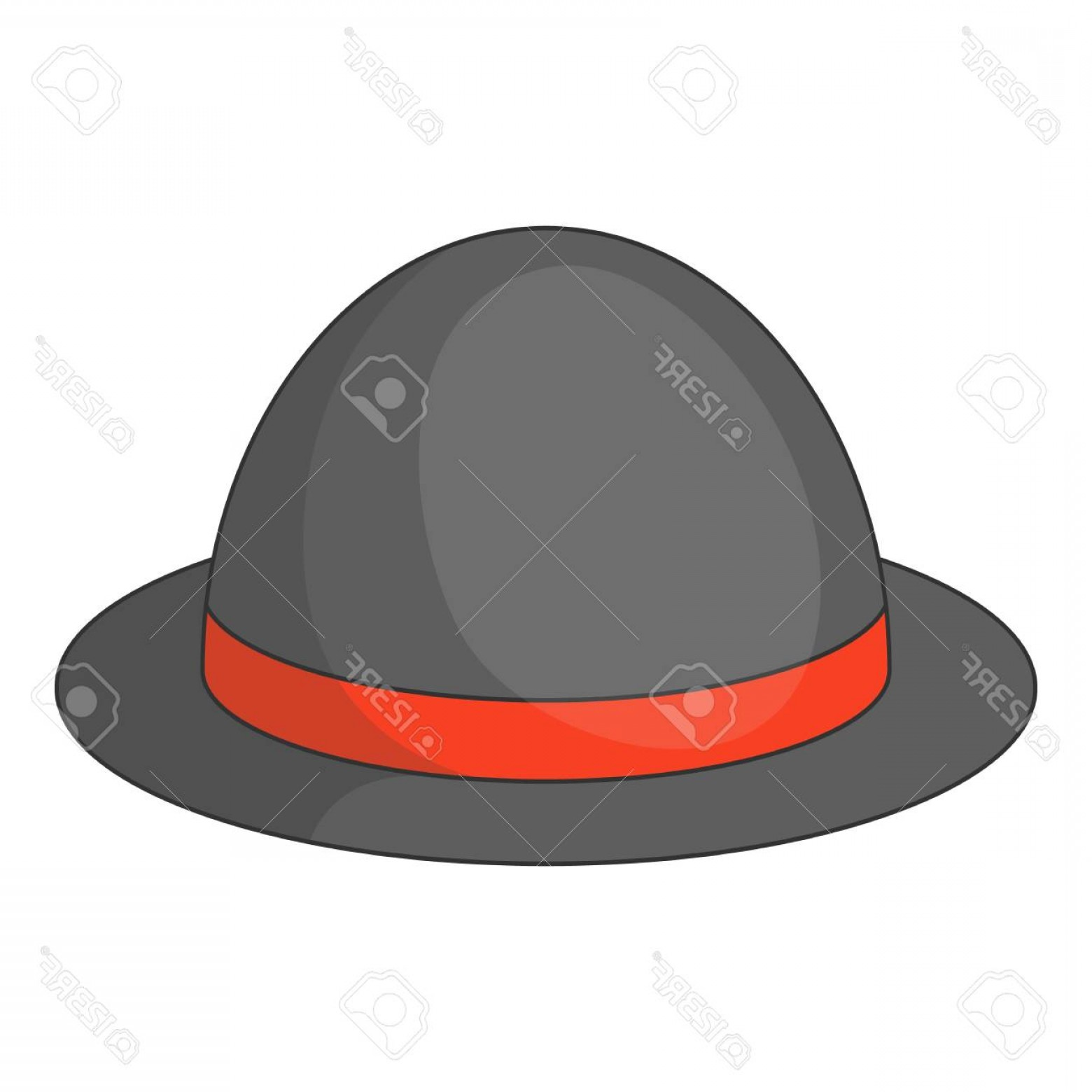 Bowler Hat Vector: Photostock Vector Bowler Hat Icon Cartoon Illustration Of Bowler Hat Vector Icon For Web Design