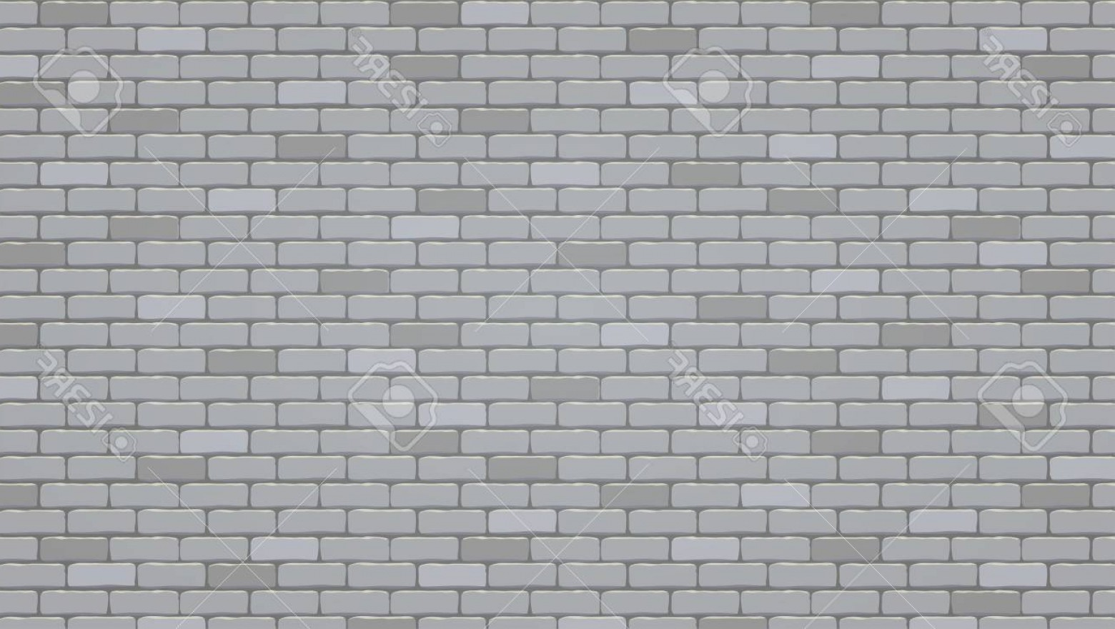 Wall Background Vector: Photostock Vector Brick Wall Background Vector Pattern Illustration Texture Of Brick Wall