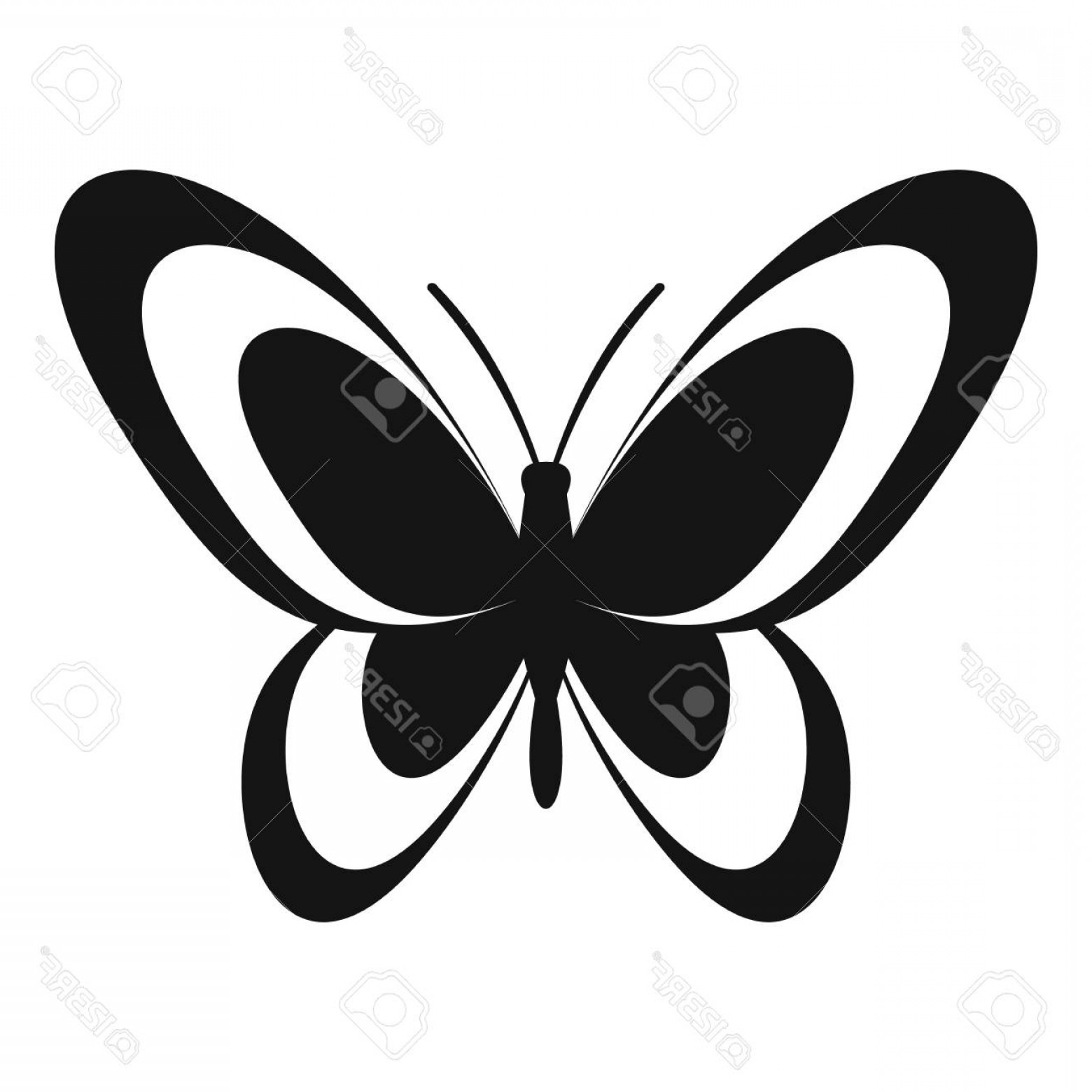 Butterly Vector: Photostock Vector Butterfly Icon Simple Illustration Of Butterfly Vector Icon For Web