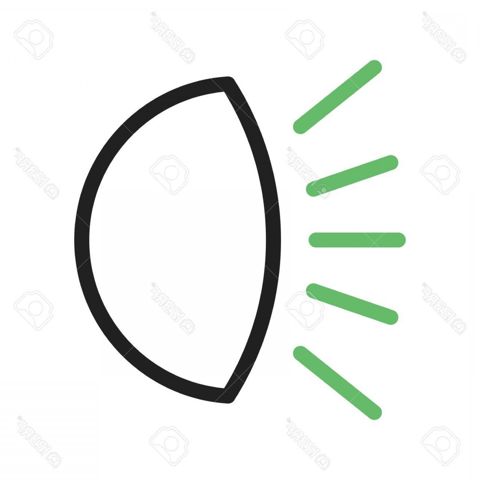 Vector Round Headlight: Photostock Vector Car Headlight Light Icon Vector Image Can Also Be Used For Car Servicing Suitable For Use On Web App