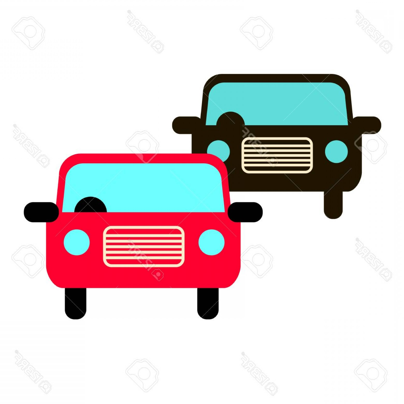 Auto Mobile Vector Art: Photostock Vector Car Vector Auto Automobile Illustration Transport Vehicle
