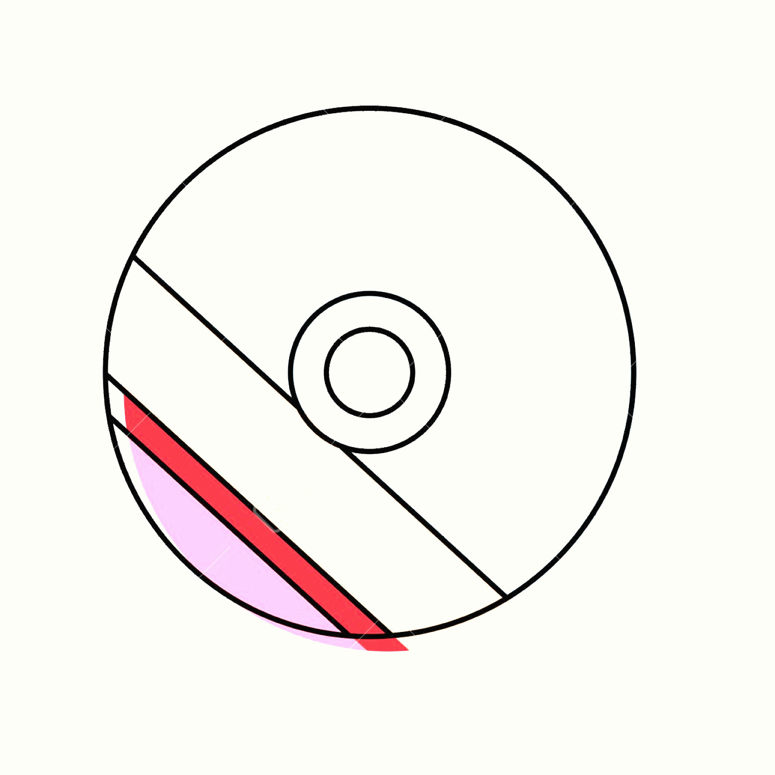 Vector CD- ROM: Photostock Vector Cd Rom With Colorful Label Icon Over White Background Vector Illustration