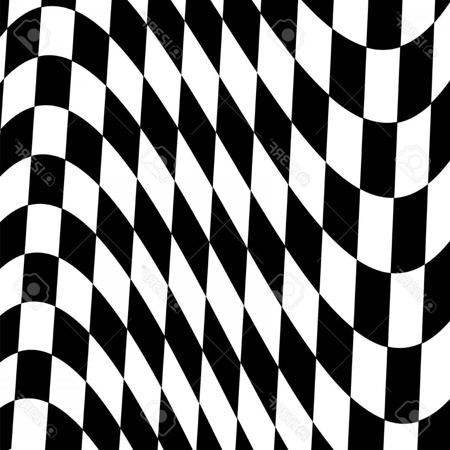 Photostock Vector Checkered Flag Background Racing Start And Finish Flag