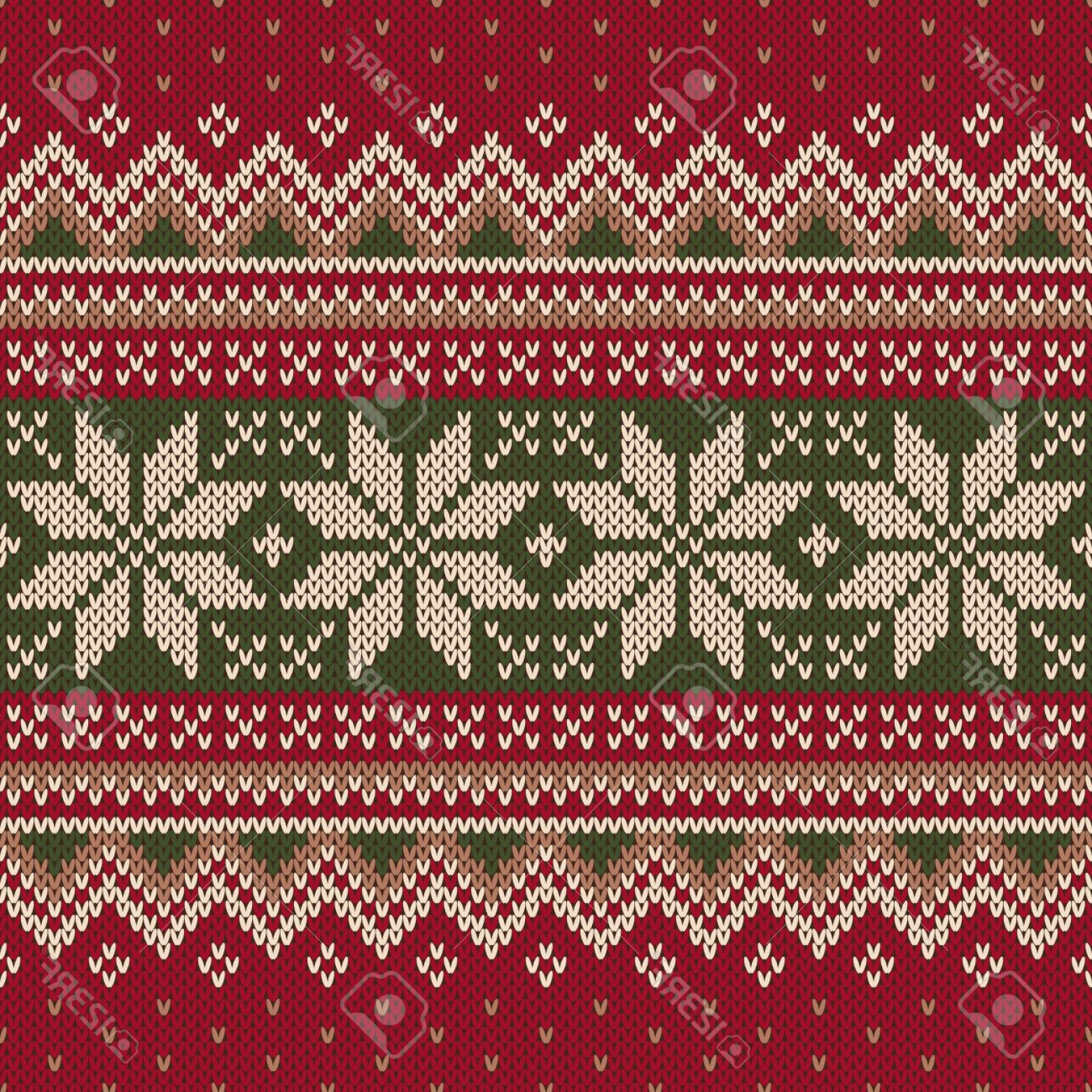 Christmas Sweater Design Vector: Photostock Vector Christmas Sweater Design Seamless Knitting Pattern
