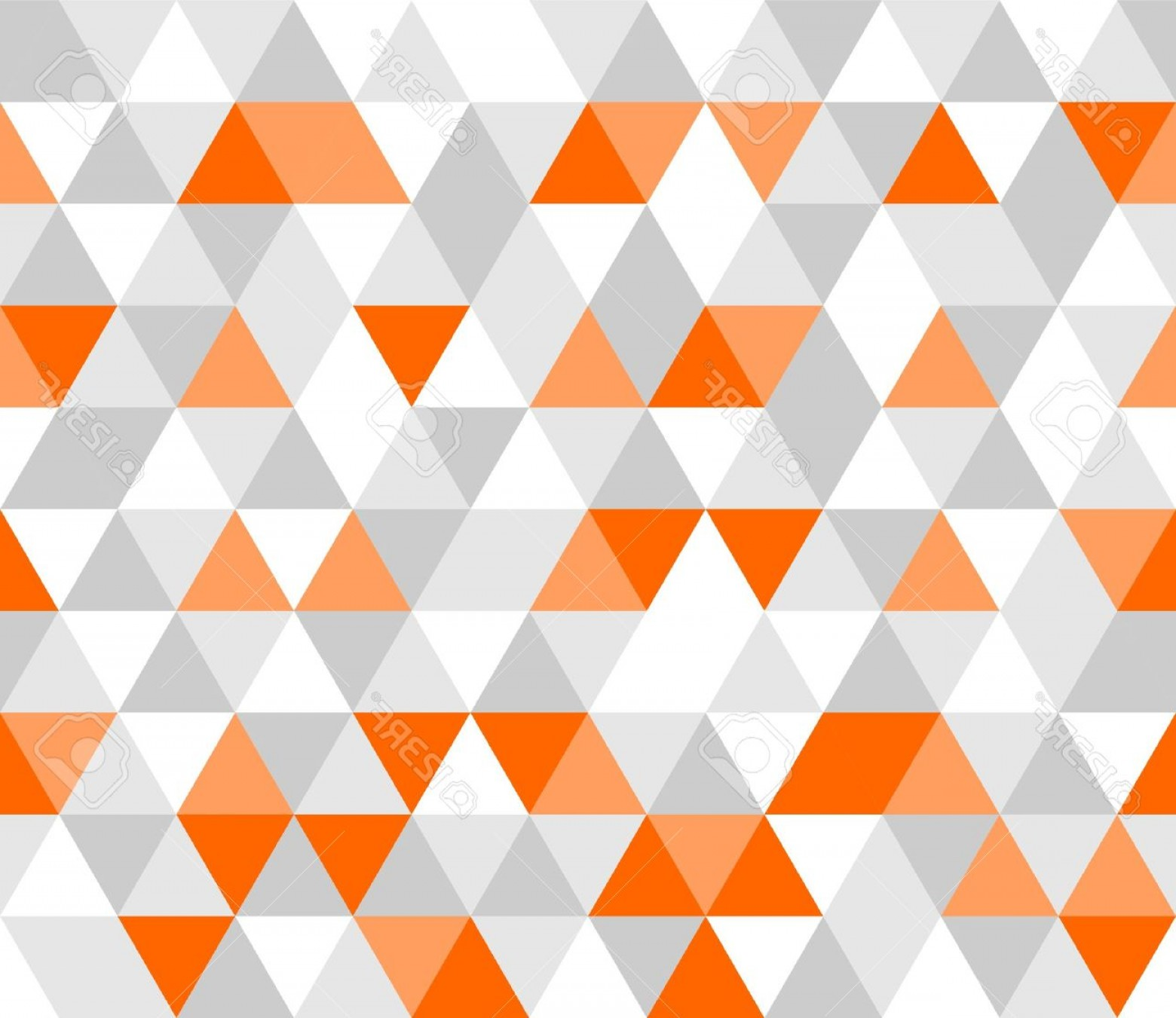 White Orange Vector: Photostock Vector Colorful Tile Vector Background Illustration Grey White And Orange Triangle Geometric