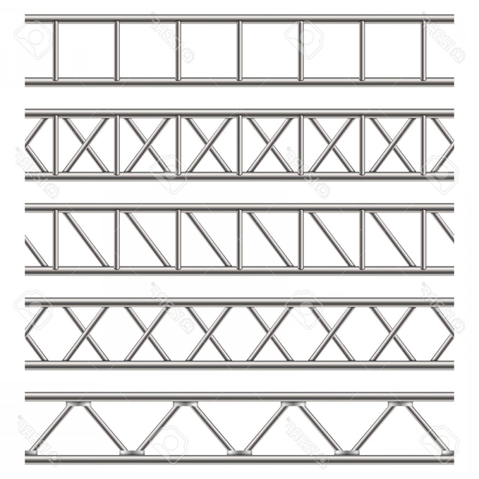 Aluminum Truss Design Vector: Photostock Vector Creative Vector Illustration Of Steel Truss Girder Pipes Isolated On Transparent Background Art Desi