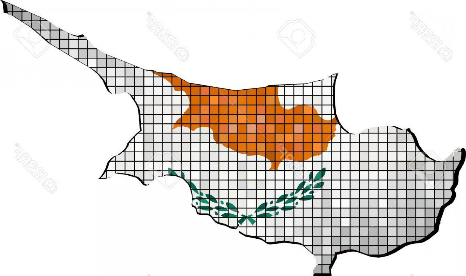45 Pet Vector Map: Photostock Vector Cyprus Map With Flag Inside Abstract Mosaic Flag Of Cyprus Cyprus Map Vector Maps Of Cyprus Cyprusia