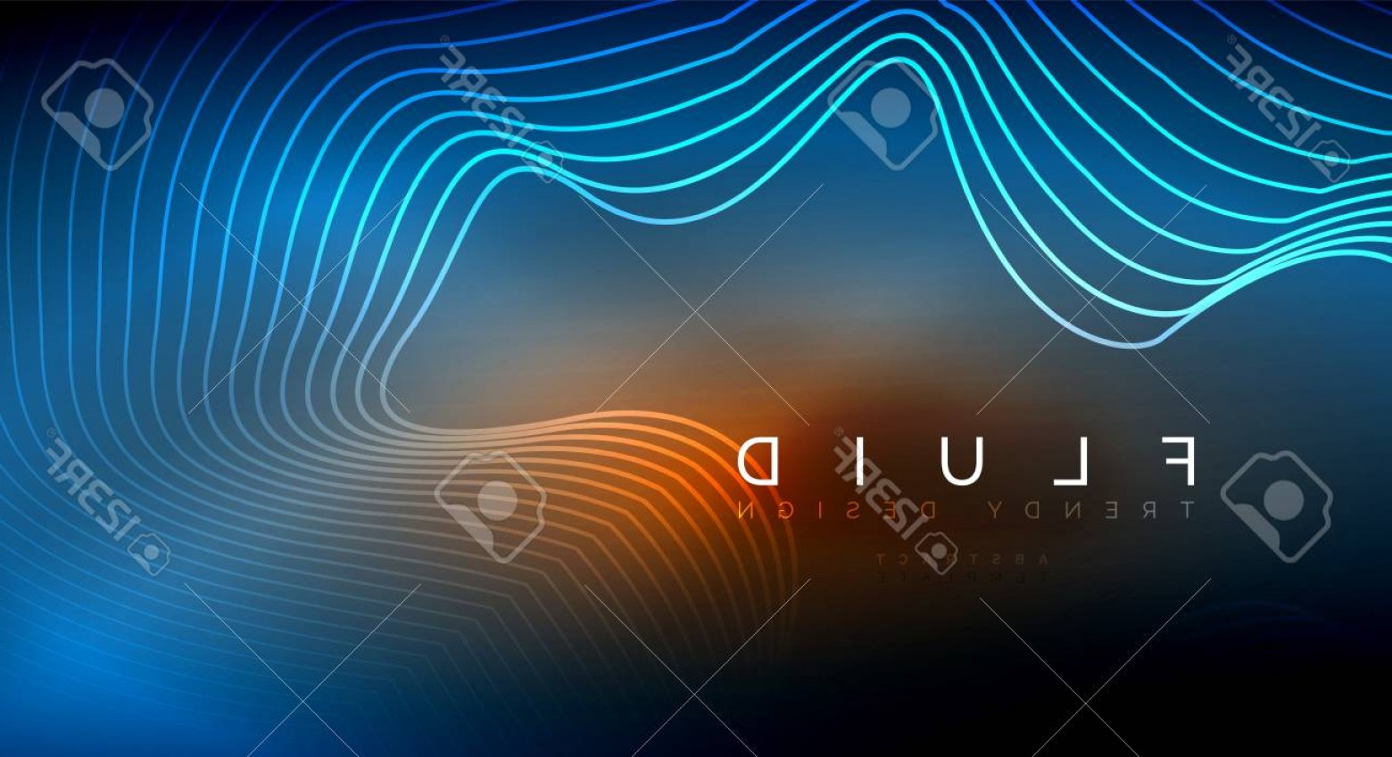 Vector Smoke Effect: Photostock Vector Digital Flowing Wave Particles Abstract Background Vector Smoke Effect Design