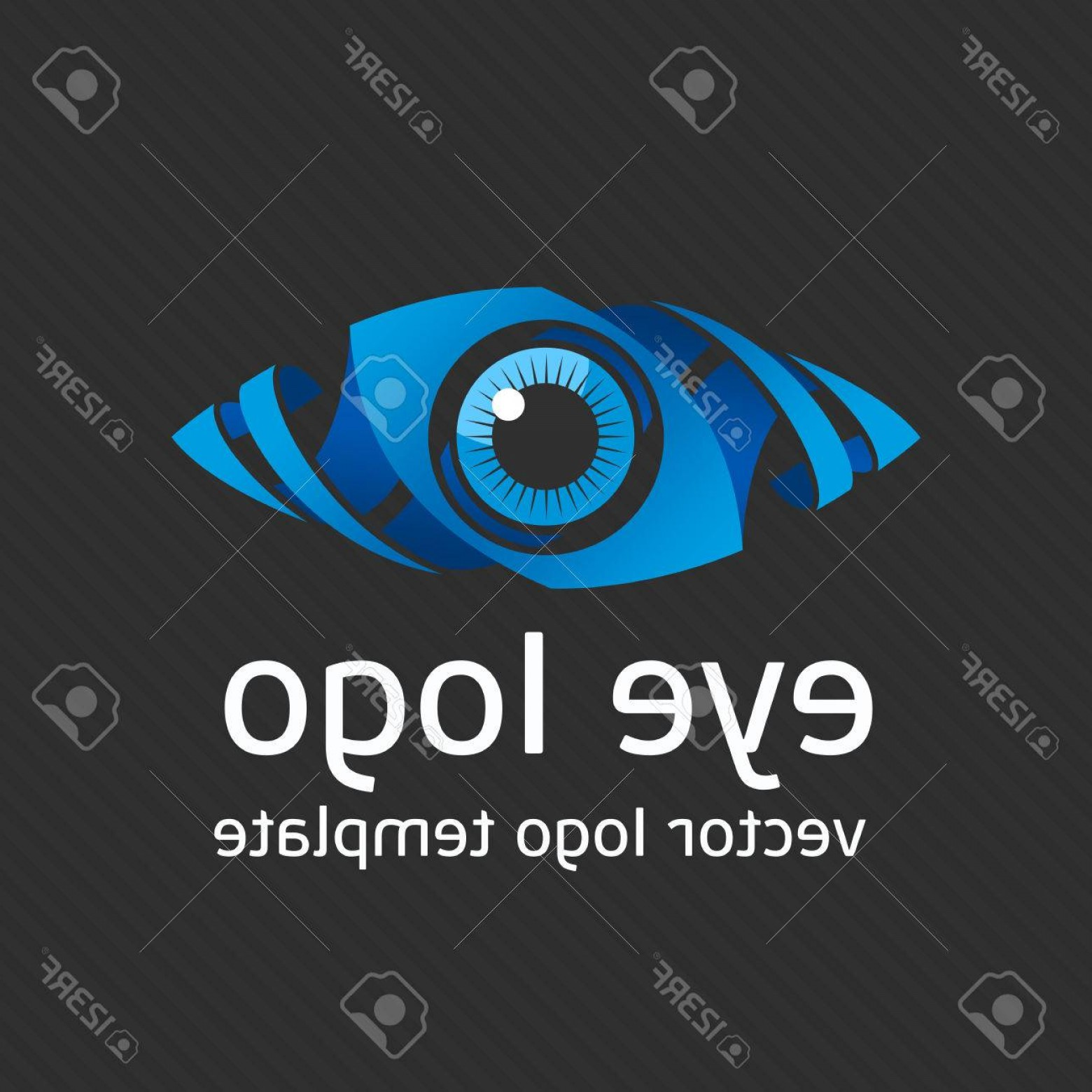 Eye Vector Logo: Photostock Vector Eye Logo Design Vector Template Colorful Media Icon Creative Vision Logotype Concept Colorful Eye Lo