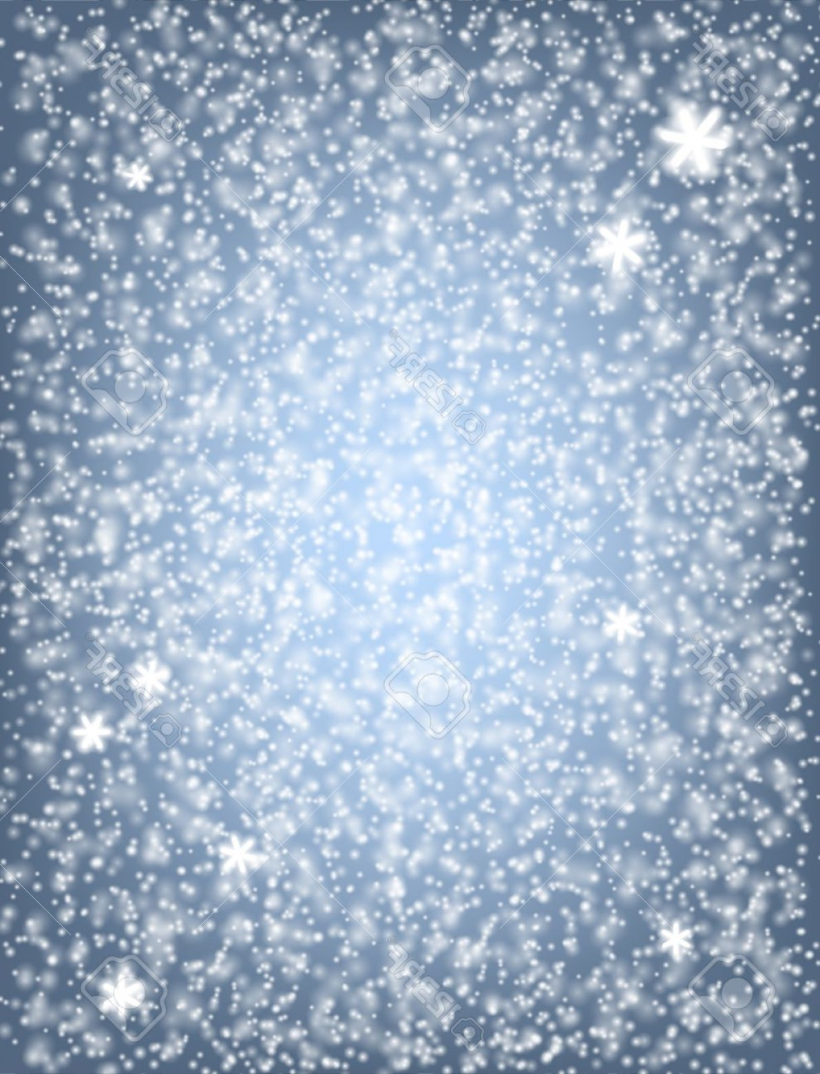 Snow Falling Vector Free: Photostock Vector Falling Snow Fluffy White Snow Falling Over Blue Winter Background Christmas Design