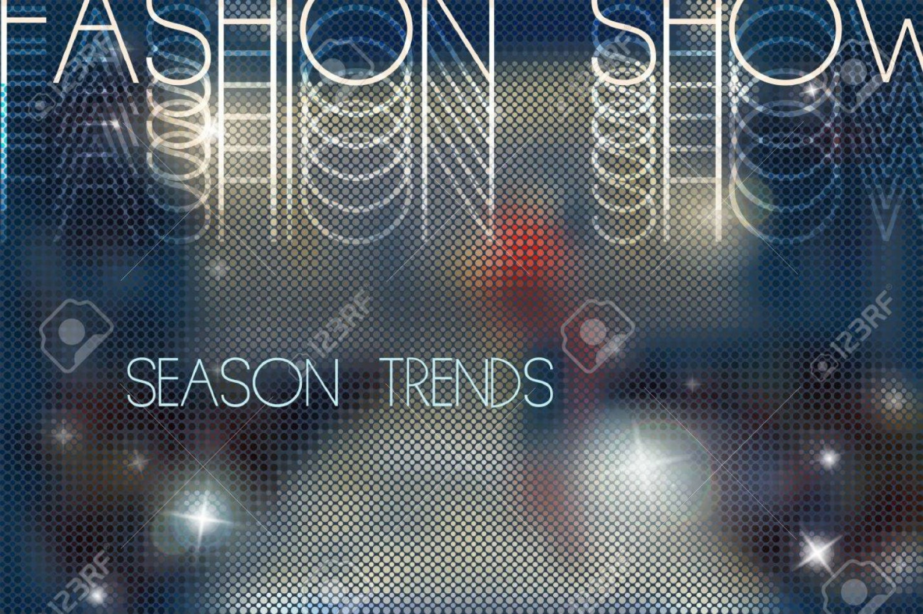 Fashon Shows Vectores: Photostock Vector Fashion Show Abstract Vector Background With Blurred Podium