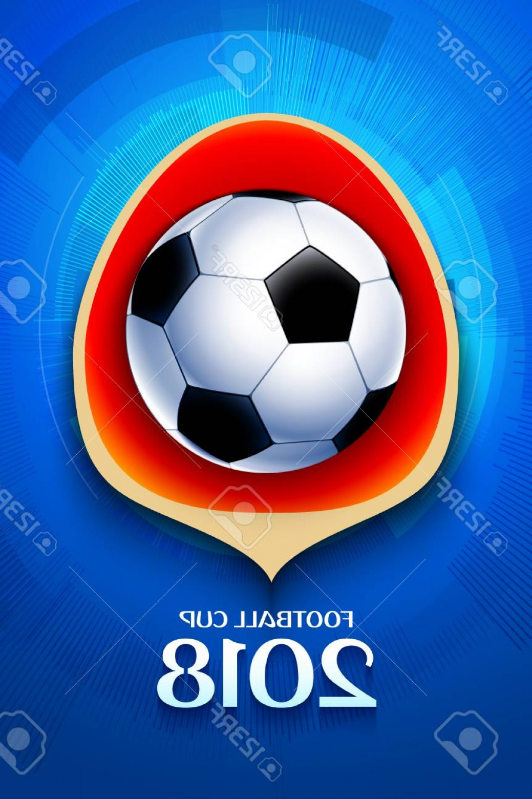 Football Vector Wallpaper: Photostock Vector Football Wallpaper Soccer Cup Color Pattern With Modern And Traditional Elements World Championship