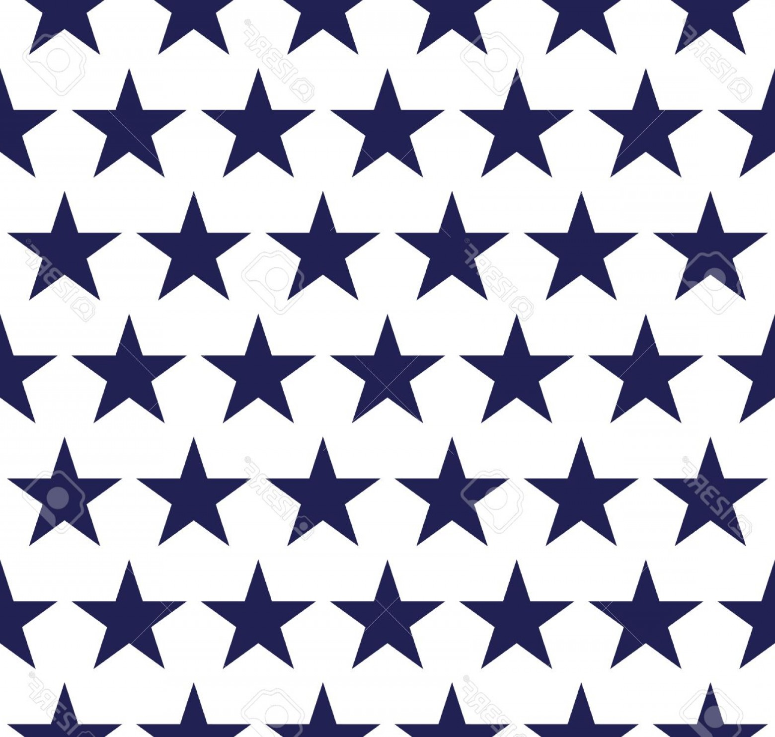 American Flag Stars Only Vector: Photostock Vector Four Seamless Pattern With Stars In American Flag Colors
