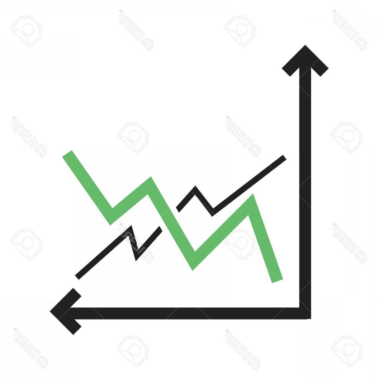 Frequency Icon Vector: Photostock Vector Frequency Bar Graph Icon Vector Image Can Also Be Used For Business Management Suitable For Use On W