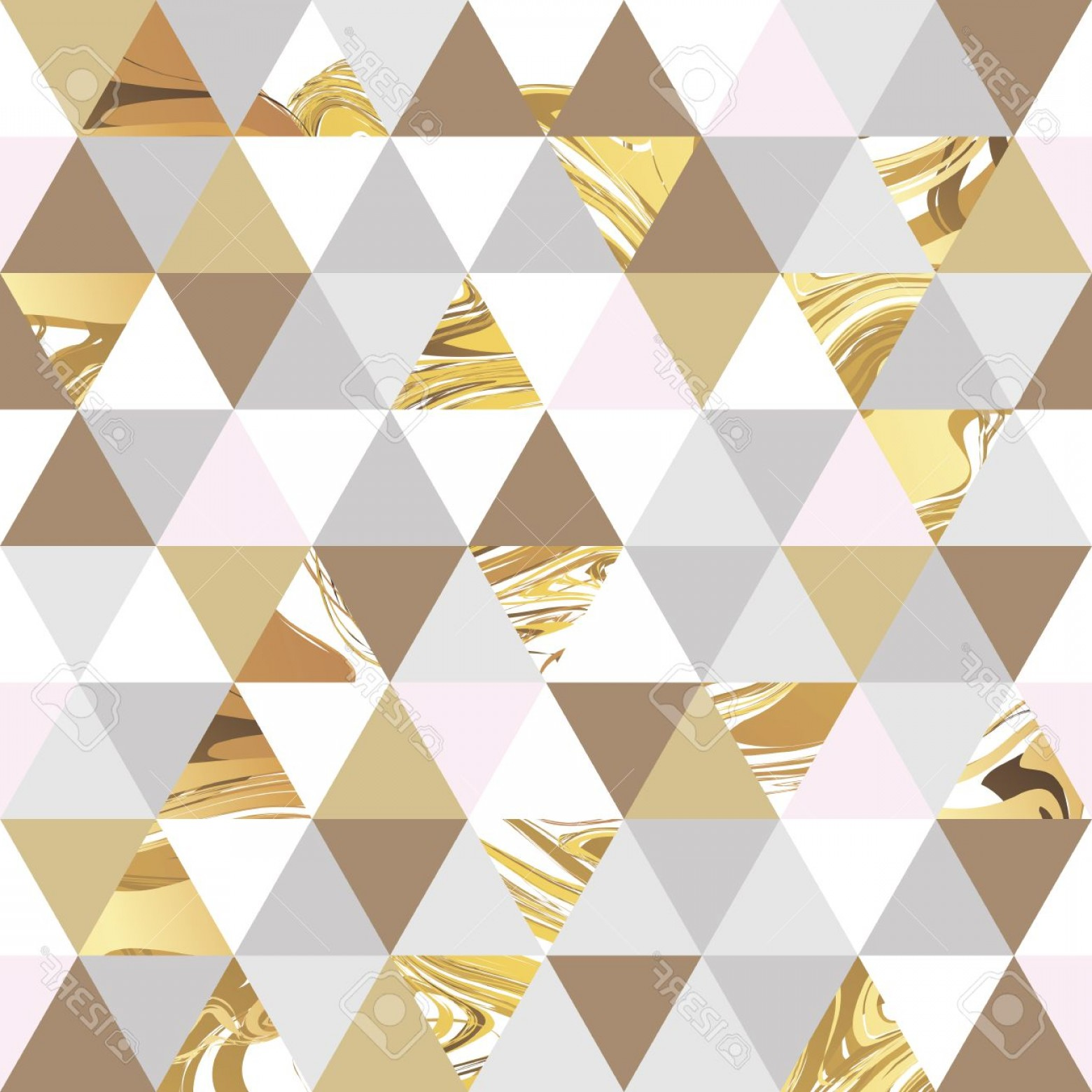 Marble With Gold Background Vector: Photostock Vector Geometric Marble Seamless Marble Gold Pattern Background Color Geometric Background For Poster Marke