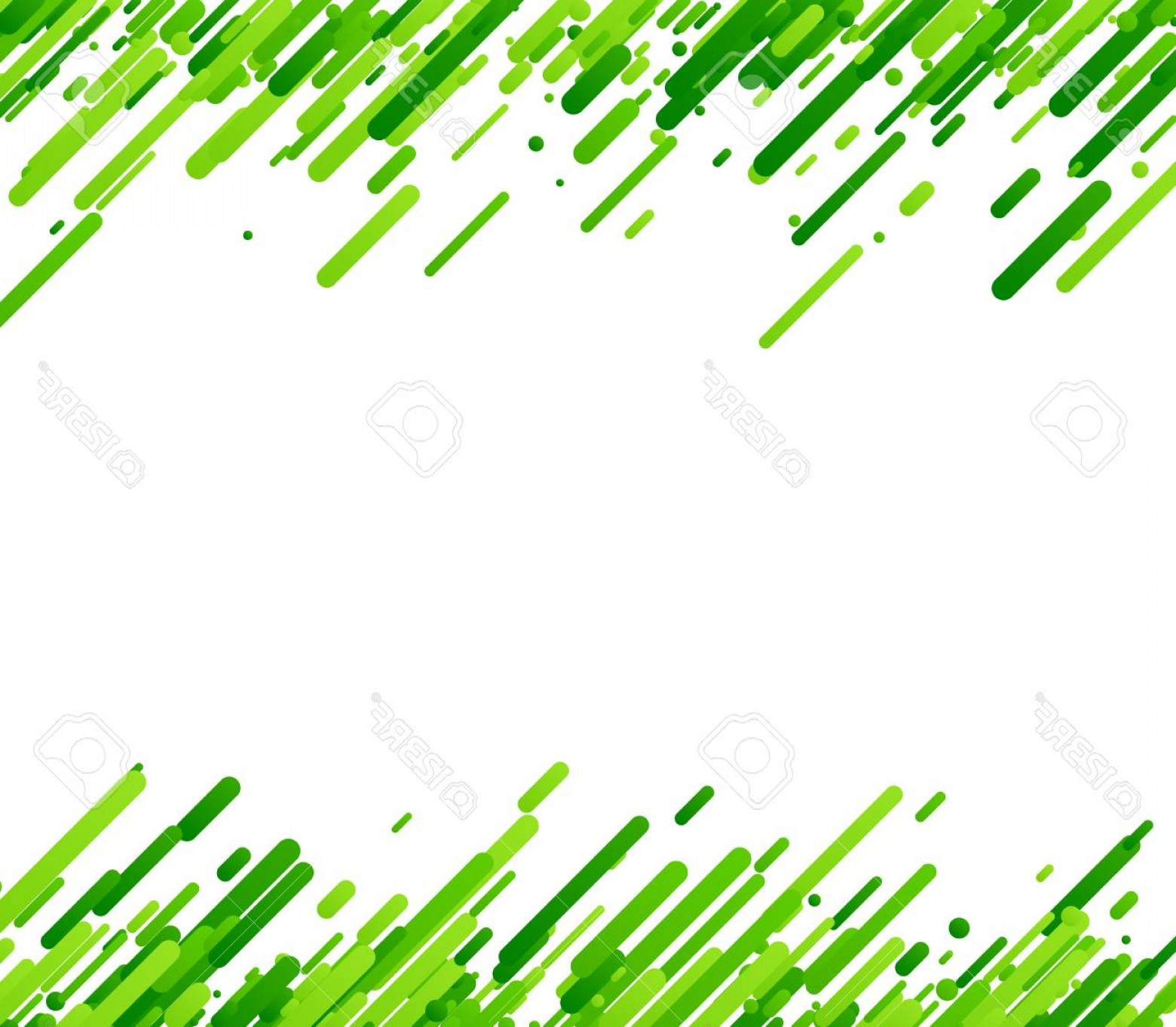 Green And White Vector: Photostock Vector Green Abstract Background On White Vector Paper Illustration