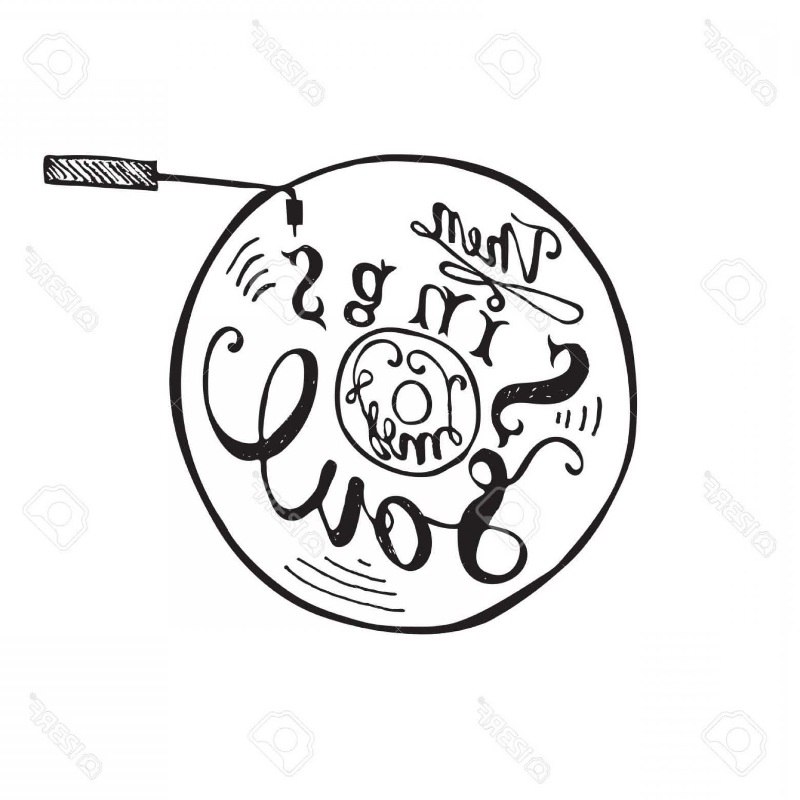 Then Sings My Vector: Photostock Vector Hand Drawing Lettering Quote Then My Soul Sings Vector Illustration Calligraphy