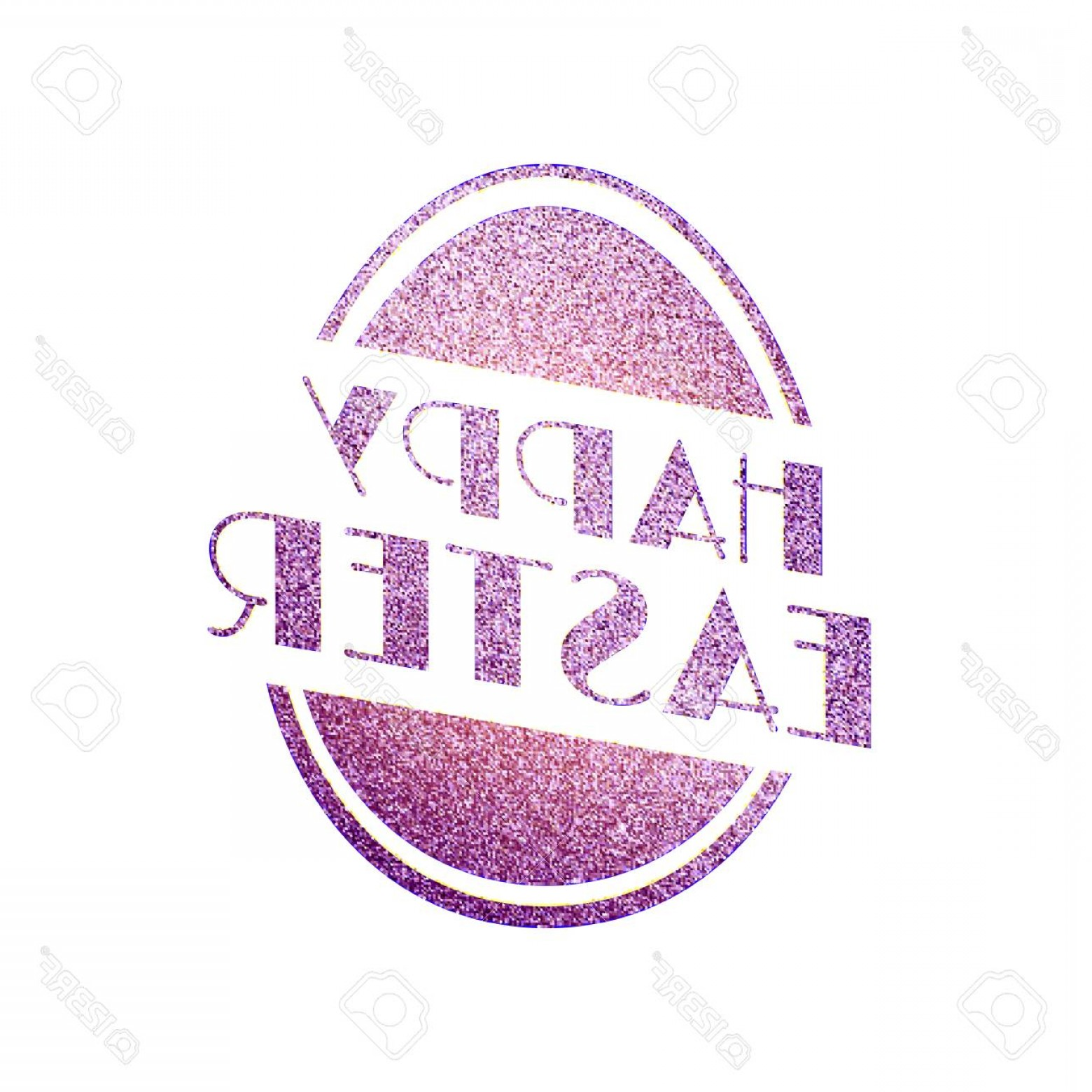 Religious Easter Vector Files: Photostock Vector Happy Easter Vector Holiday Illustration Of Easter Egg From Pink Shiny Metallic Texture Christian Re