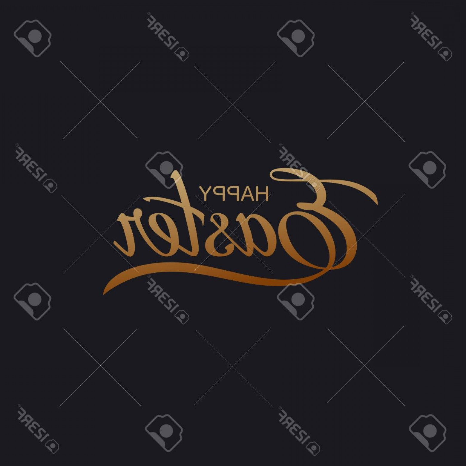 Religious Easter Vector Files: Photostock Vector Happy Easter Vector Illustration Of Holiday Religious Easter Lettering