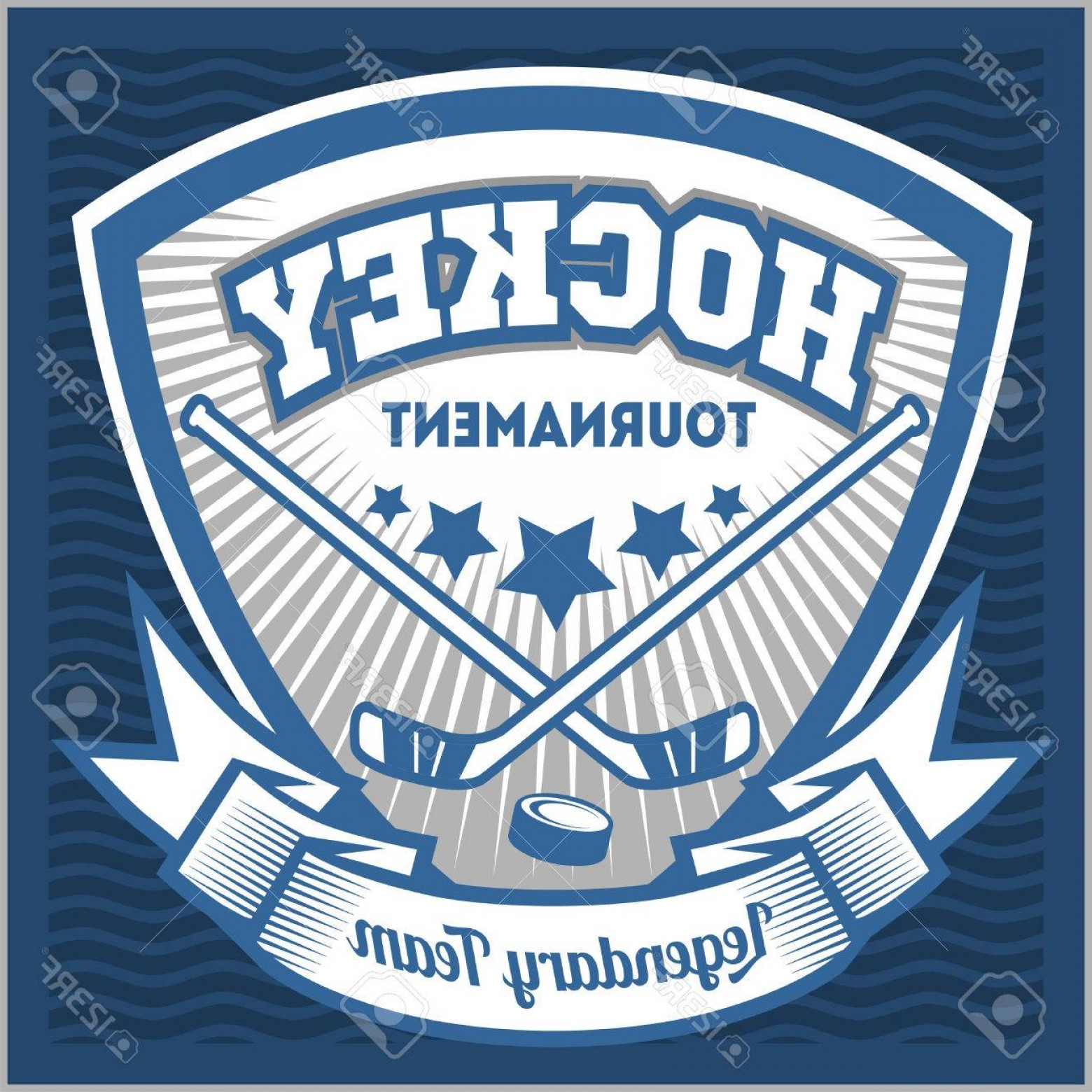 Hockey Teams Logo Vectors: Photostock Vector Hockey Sport Team Logotype Template Hockey Team Logo Template Hockey Emblem Logotype Template T Shir