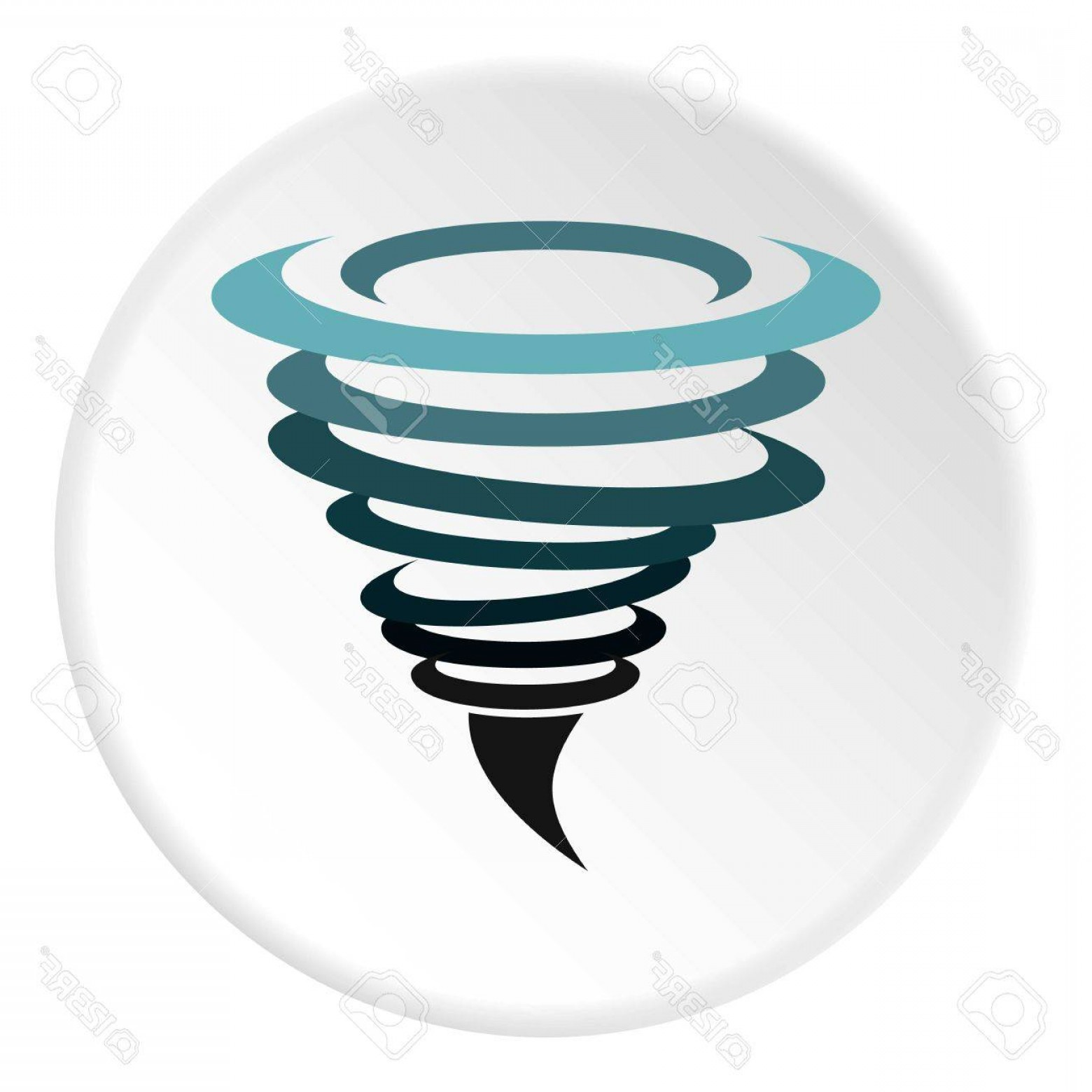 Hurricane Vector Art: Photostock Vector Hurricane Icon Flat Illustration Of Hurricane Vector Icon For Web