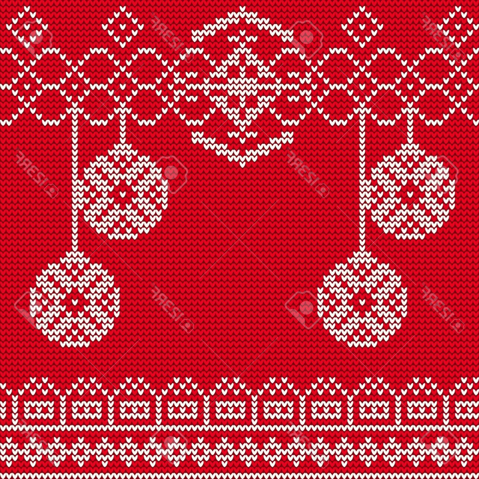 Christmas Sweater Design Vector: Photostock Vector Illustration Of Ugly Sweater Seamless Pattern For Design