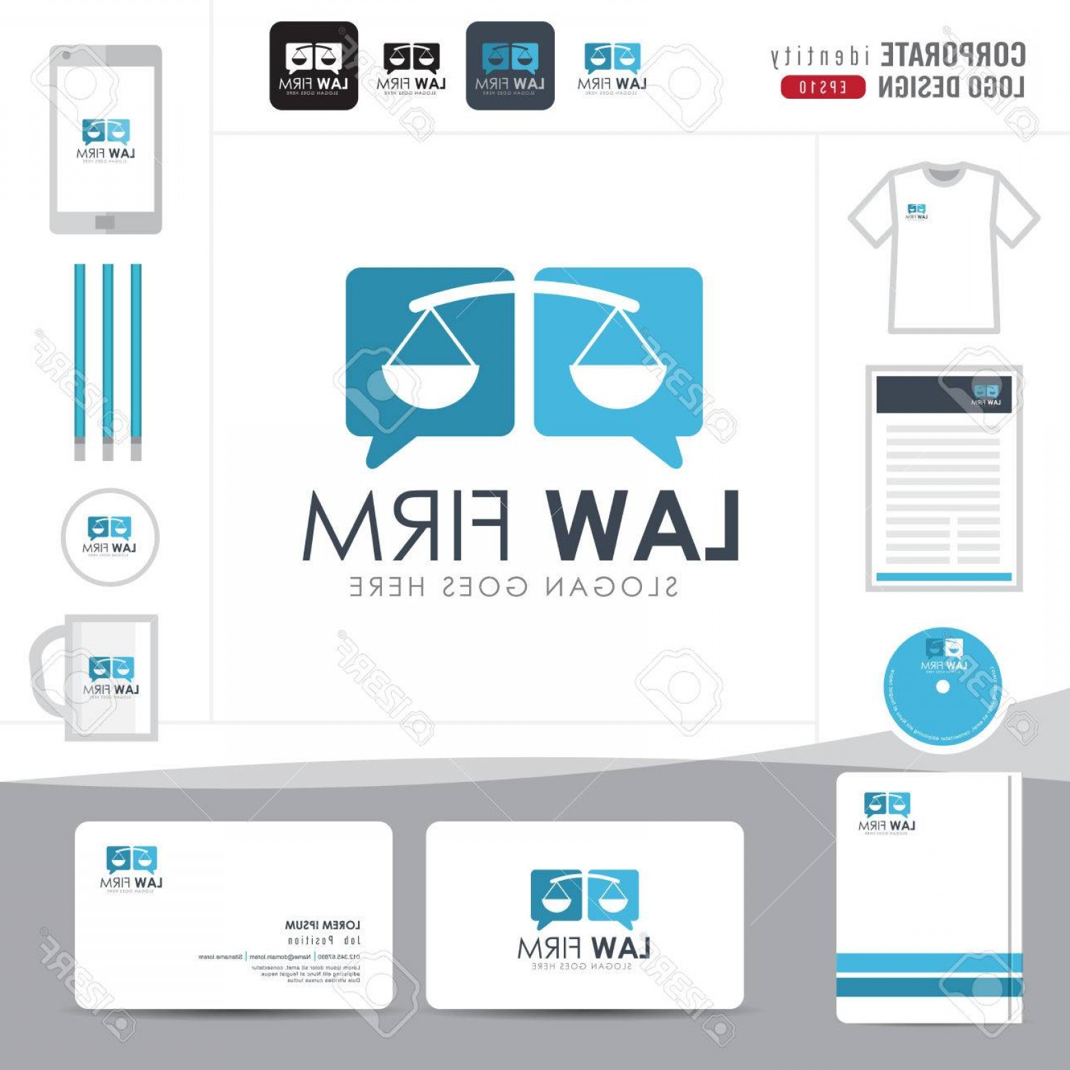 BBB Accredited Business Logo Vector: Photostock Vector Law Logo Law Firm Law Office Law Logotype Corporate Identity Template Corporate Identity Vector Illu