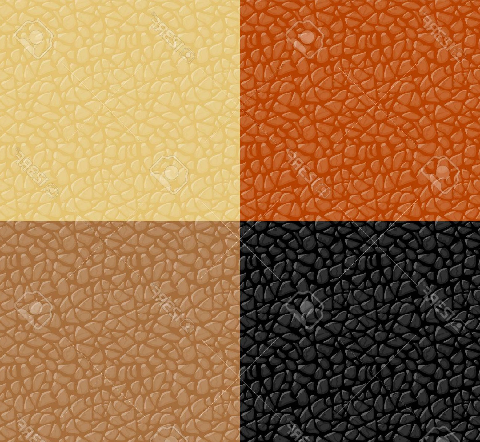 Vector Seamless Leather Pattern: Photostock Vector Leather Texture Seamless Pattern