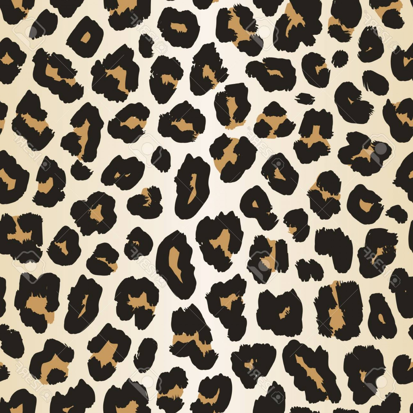 Jaguar Spots Vector: Photostock Vector Leopard Skin Pattern Vector Seamless Background Realistic Animal Print Texture Of Jaguar Leopard Che