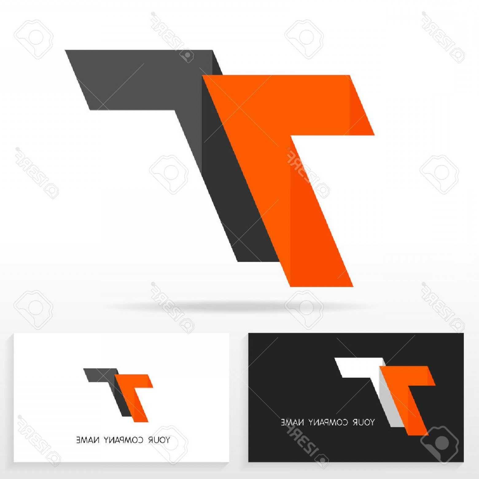 T Vector: Photostock Vector Letter T Logo Design Vector Sign Business Card Templates