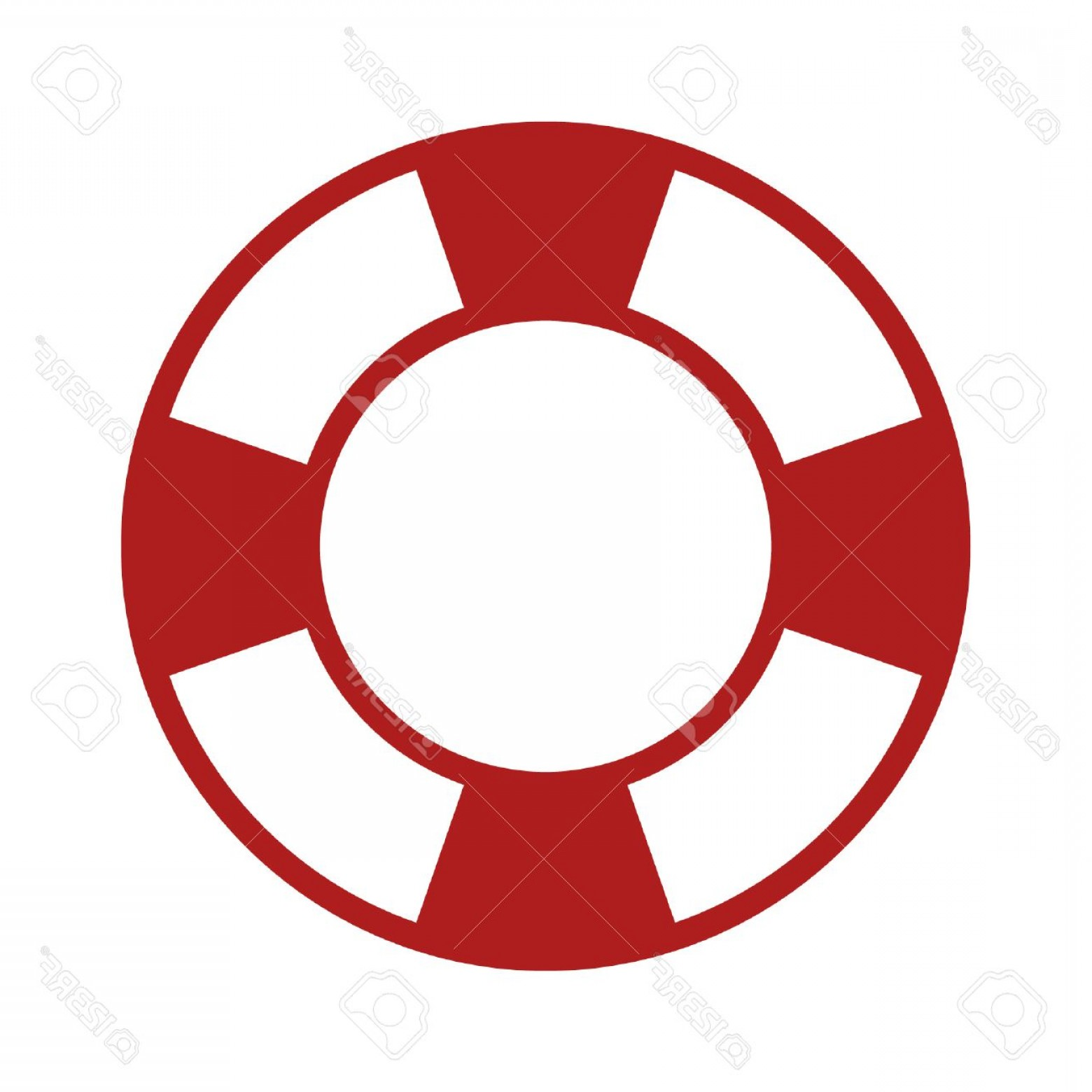 Old Lifesaver Stripe Vectors: Photostock Vector Life Preserver Help Icon For Apps
