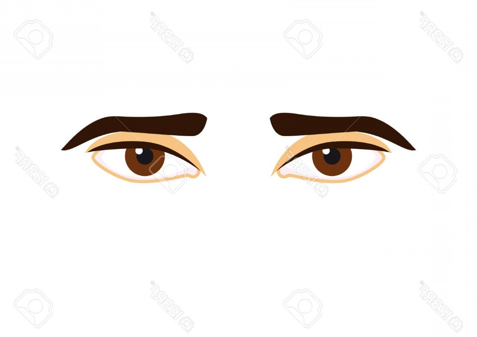 Male Eyes Vector Graphic: Photostock Vector Man Eyes Vector Beautiful Eyes On A White Background