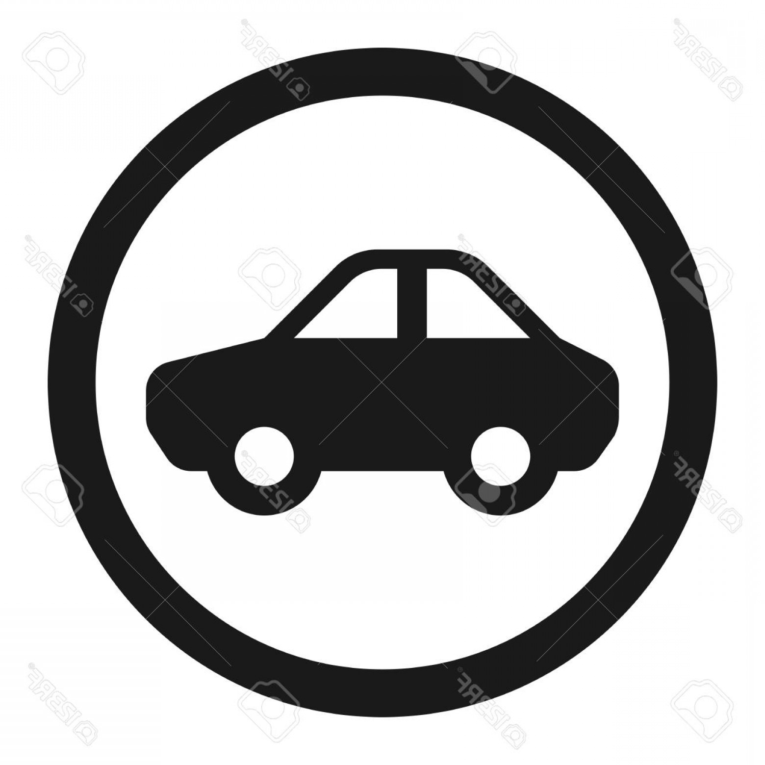 Motor Vector Graphics: Photostock Vector No Motor And Car Line Icon Traffic And Road Sign Vector Graphics A Solid Pattern On A White Backgrou