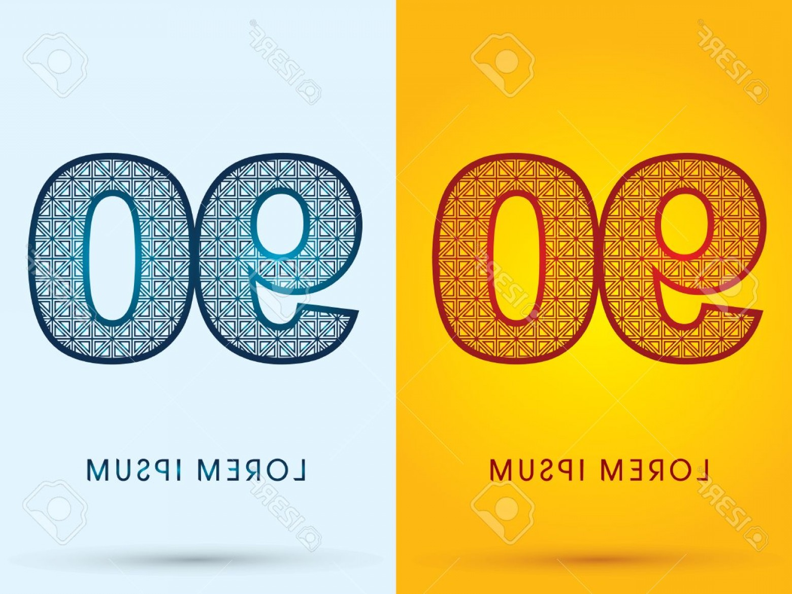 Cool Logo Icon Vector: Photostock Vector Number Luxury Font Hot And Cool Logo Symbol Icon Graphic Vector