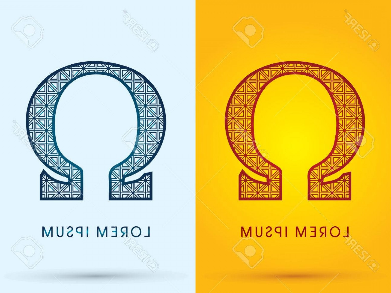 Cool Logo Icon Vector: Photostock Vector Omega Luxury Font Hot And Cool Logo Symbol Icon Graphic Vector