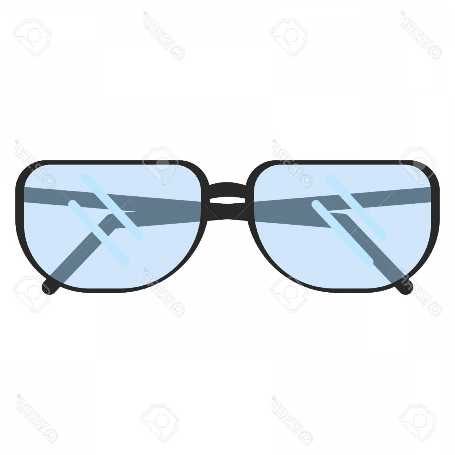 Reading Glasses For Men Vector: Photostock Vector Optical Reading Glasses Flat Icon Vector Sign Colorful Pictogram Isolated On White Symbol Logo Illus