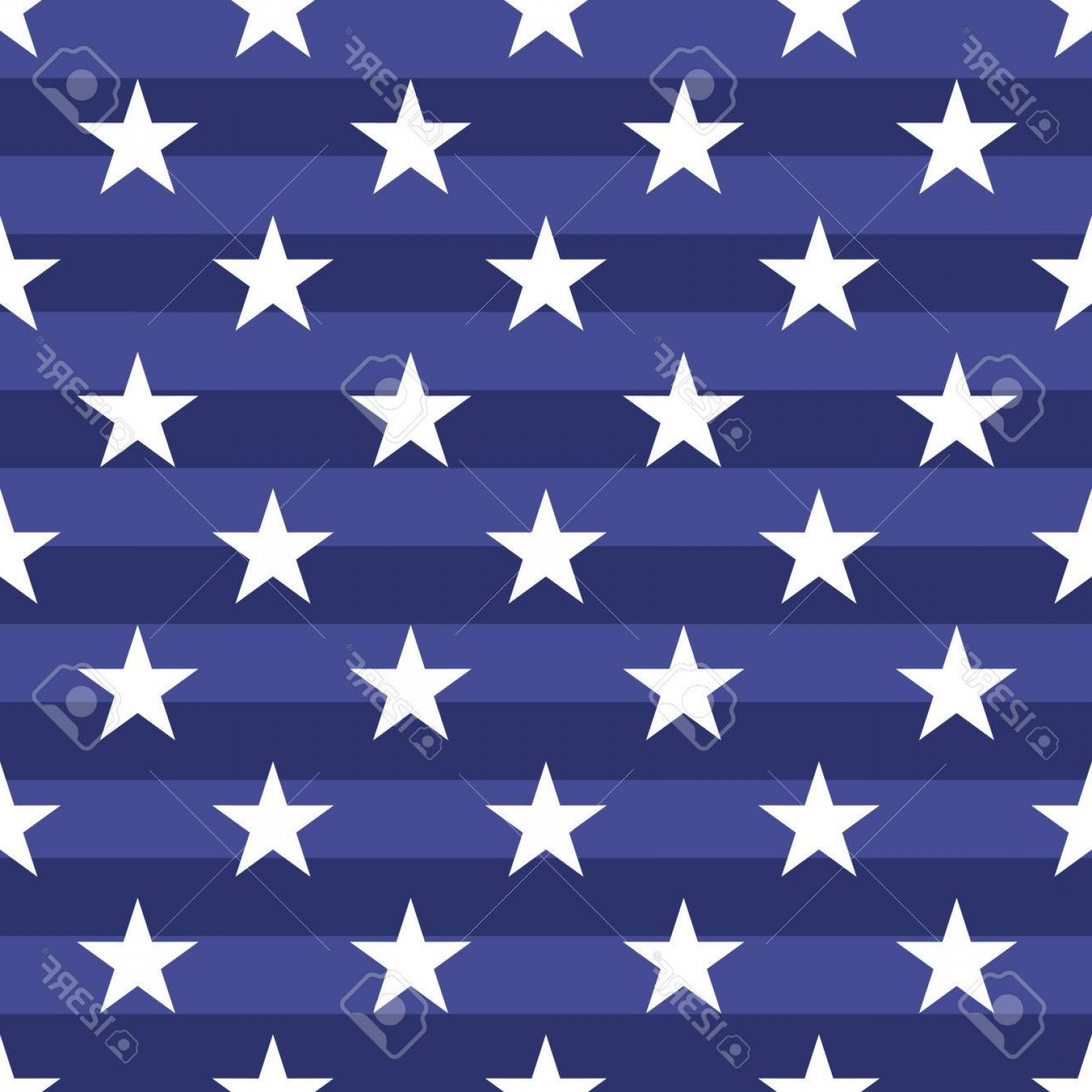American Flag Stars Only Vector: Photostock Vector Patriotic Usa Seamless Pattern American Flag Symbols And Colors Background For Th July Usa Independ