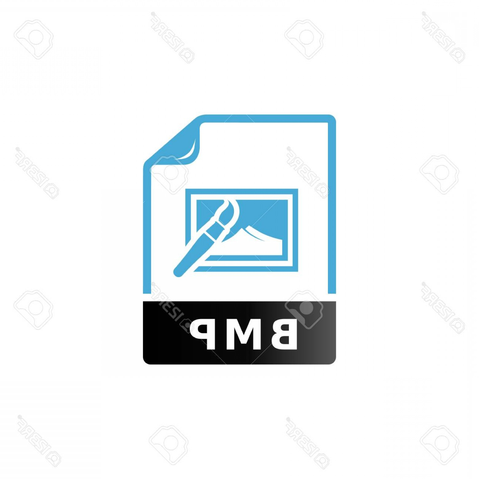 File Formats Vector Artwork: Photostock Vector Picture File Format Icon In Duo Tone Color Image Photography Camera