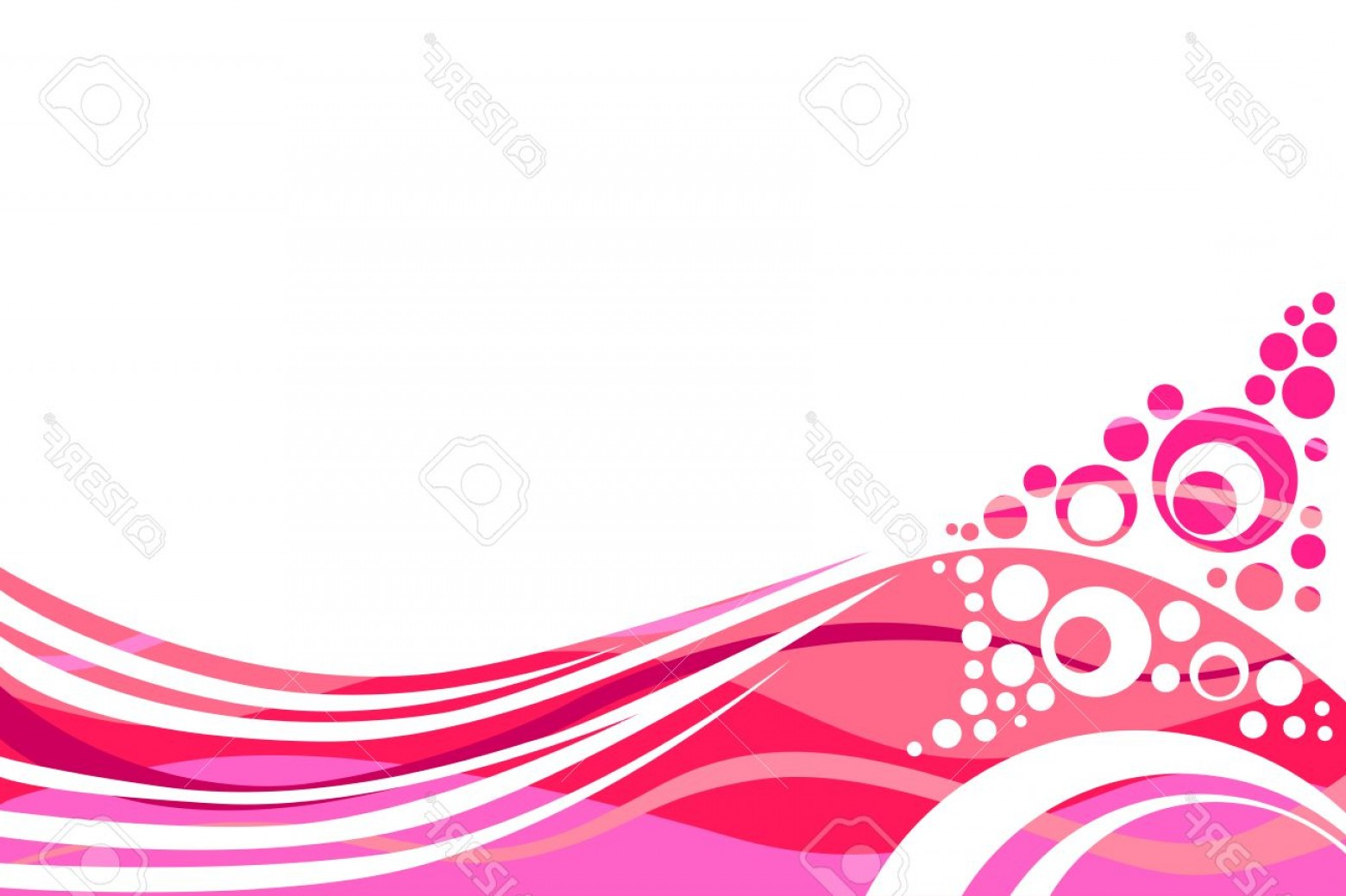 Backgroung Vector: Photostock Vector Pink And Red Lines And Circles Abstract Background Vector